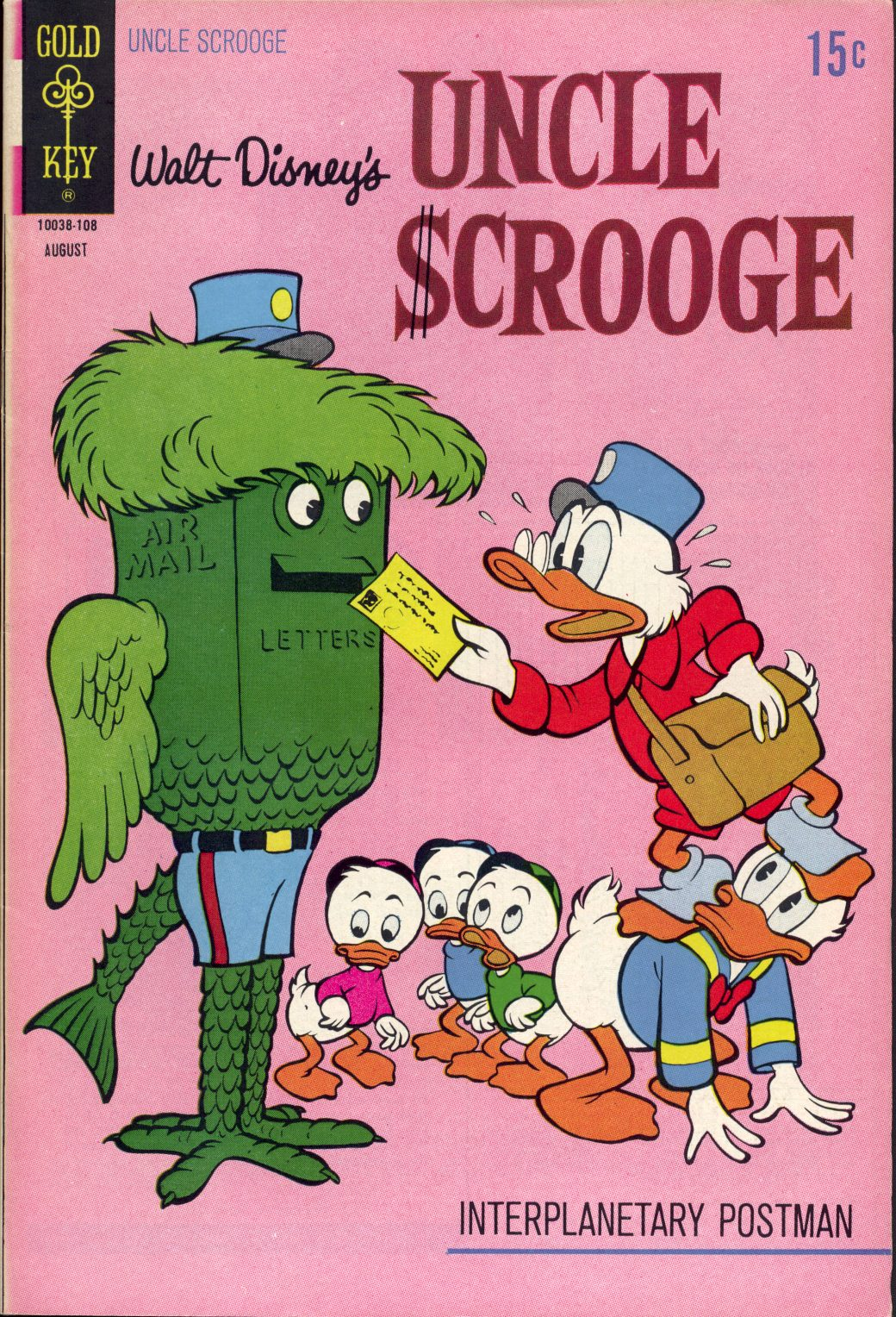 Read online Uncle Scrooge (1953) comic -  Issue #94 - 1