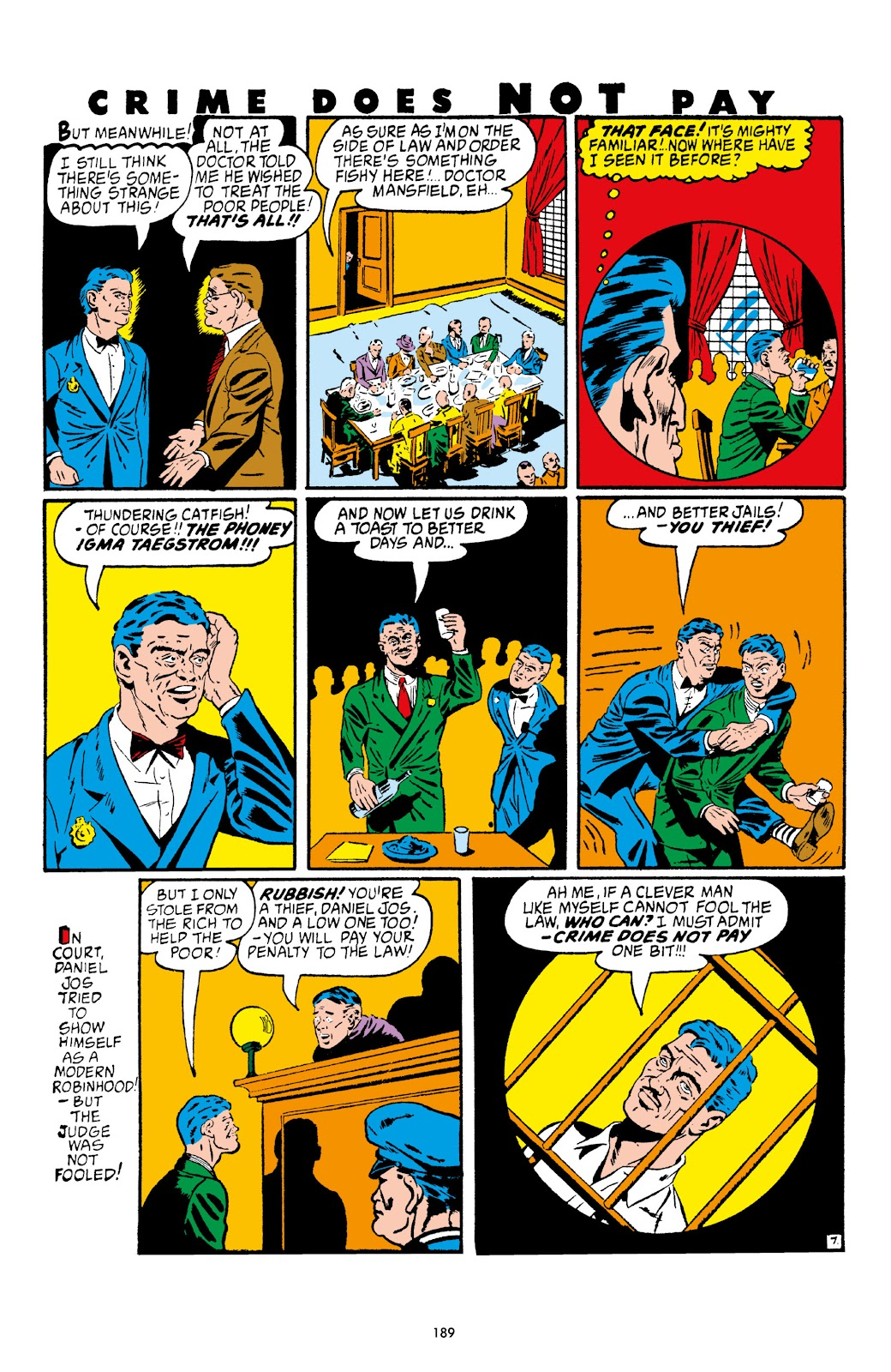Read online Crime Does Not Pay Archives comic -  Issue # TPB 4 (Part 2) - 89