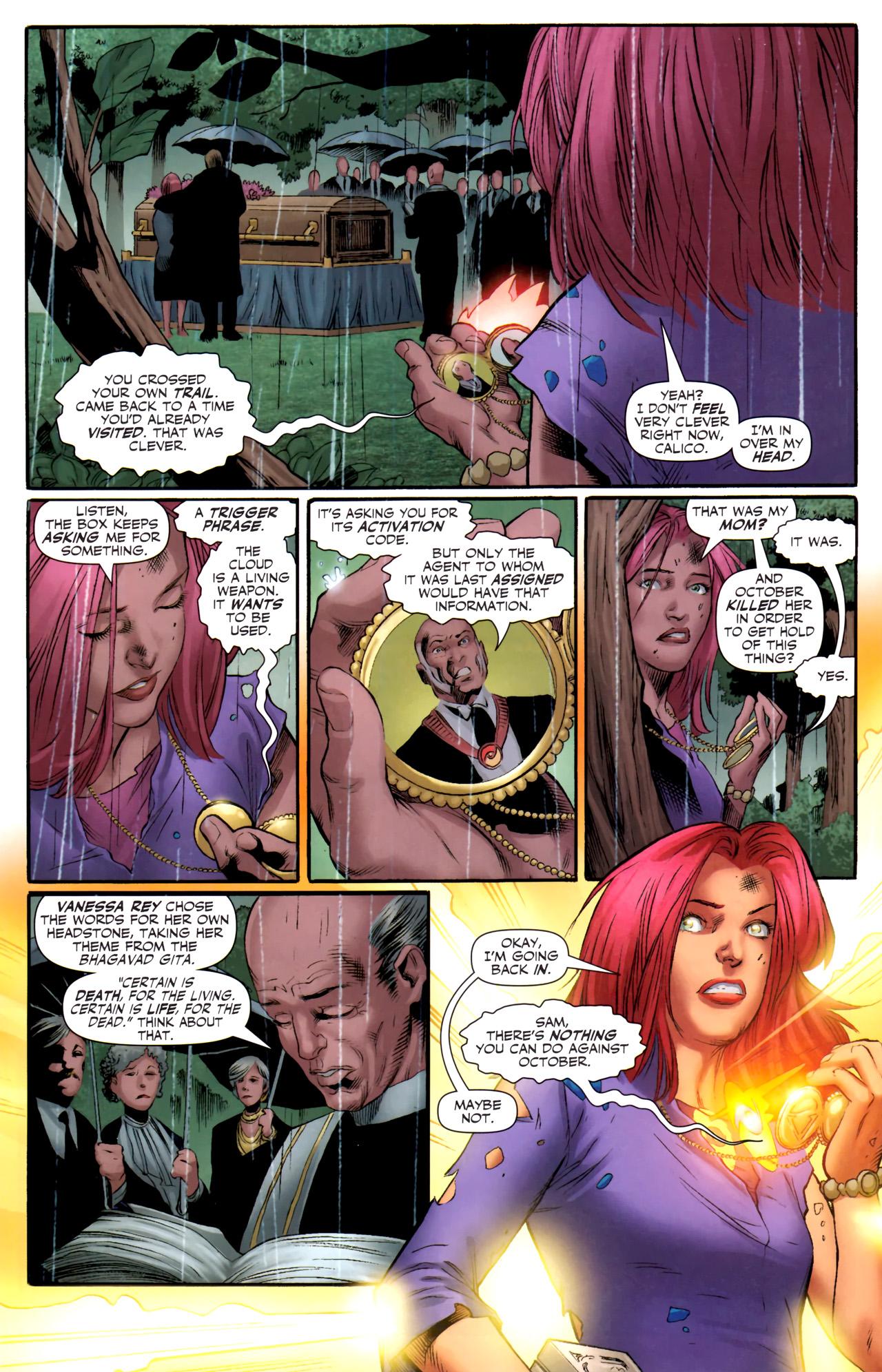 Read online Sigil (2011) comic -  Issue #4 - 9