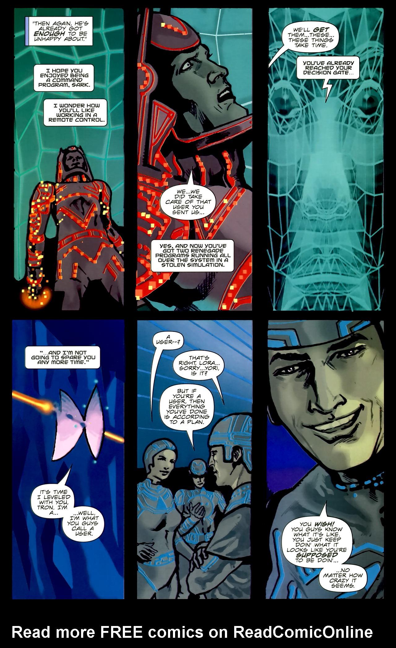 Read online TRON: Original Movie Adaptation comic -  Issue #2 - 22