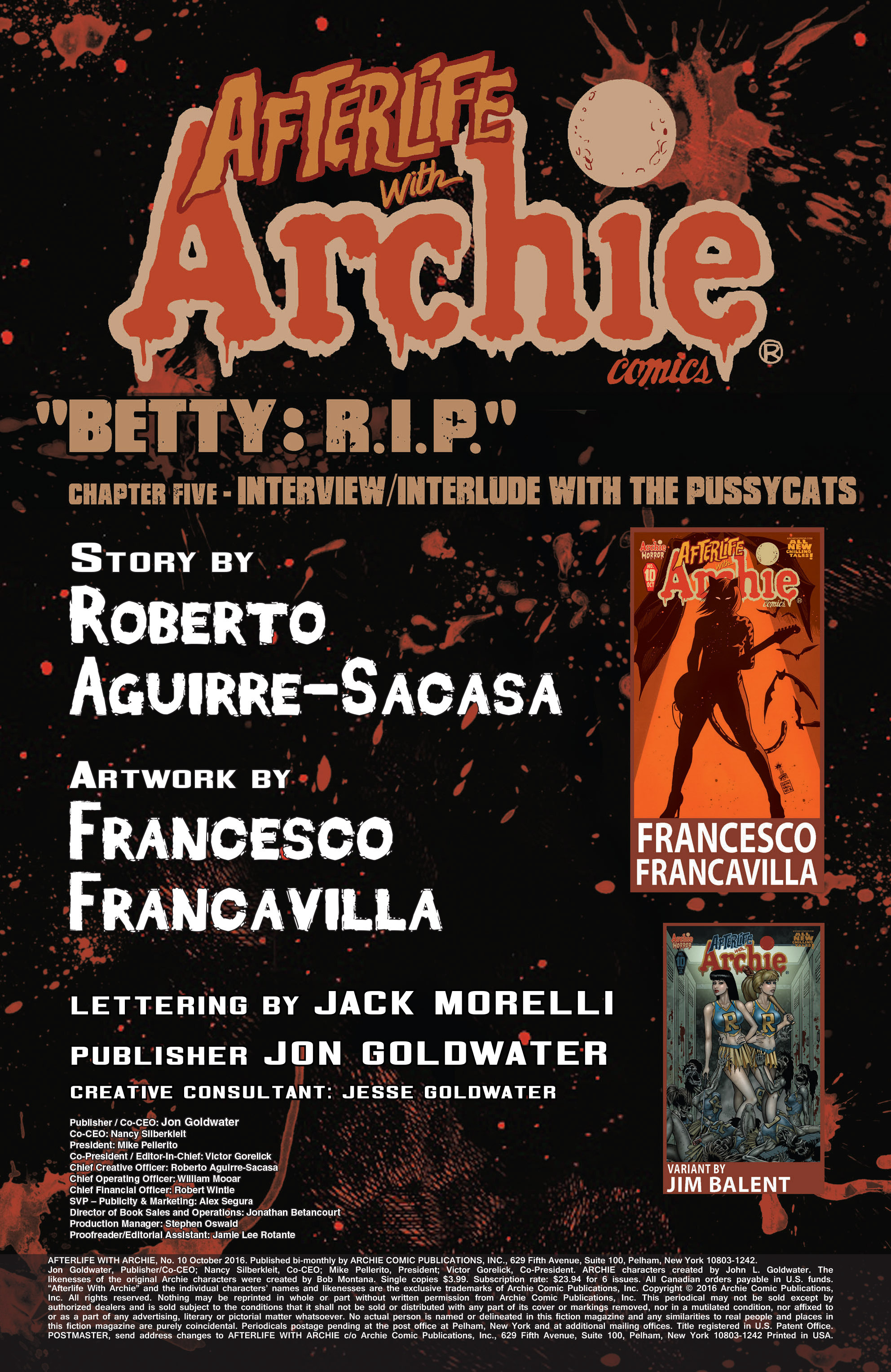 Read online Afterlife with Archie comic -  Issue #10 - 2