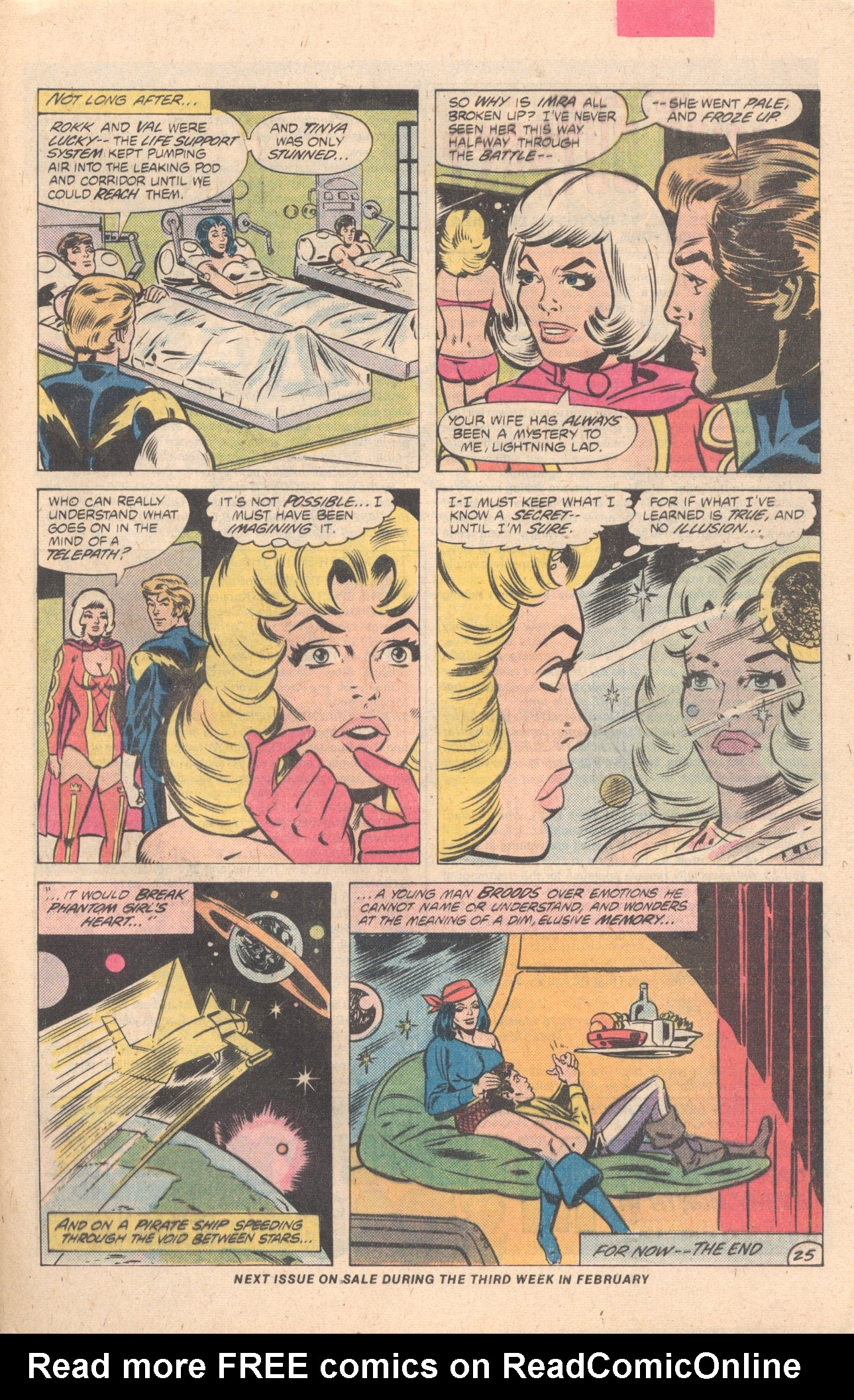 Legion of Super-Heroes (1980) 274 Page 25