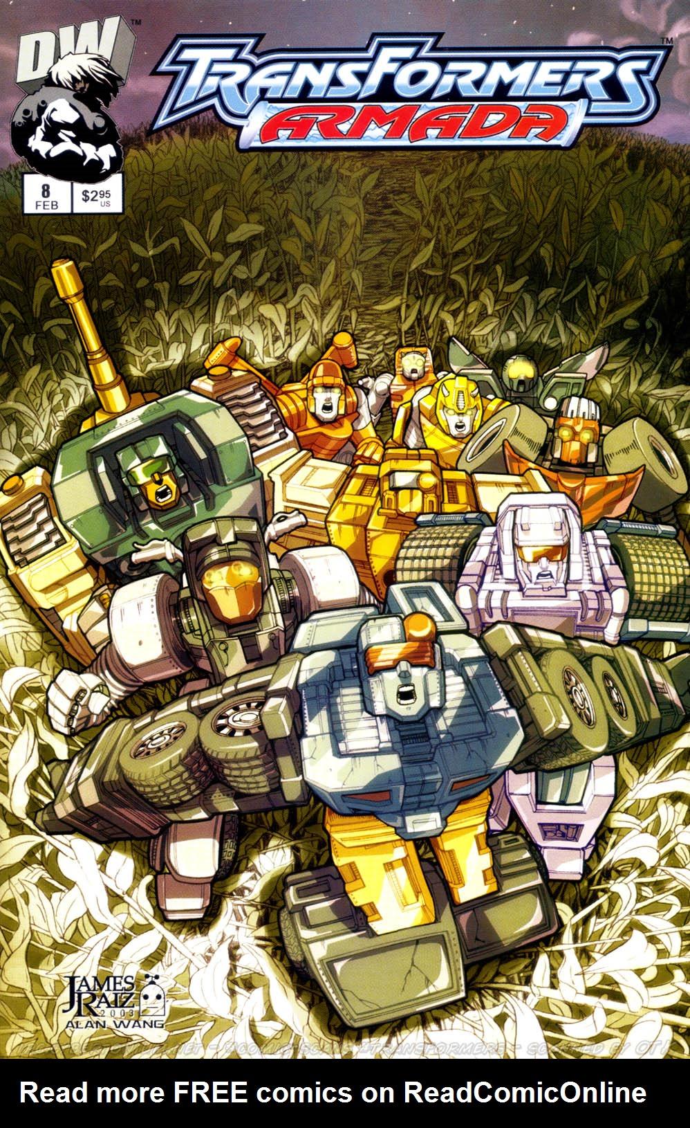 Read online Transformers Armada comic -  Issue #8 - 1