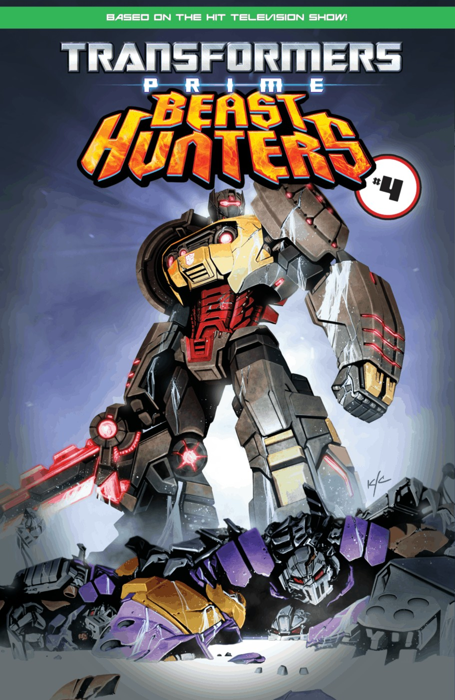Read online Transformers Prime: Beast Hunters comic -  Issue #3 - 25
