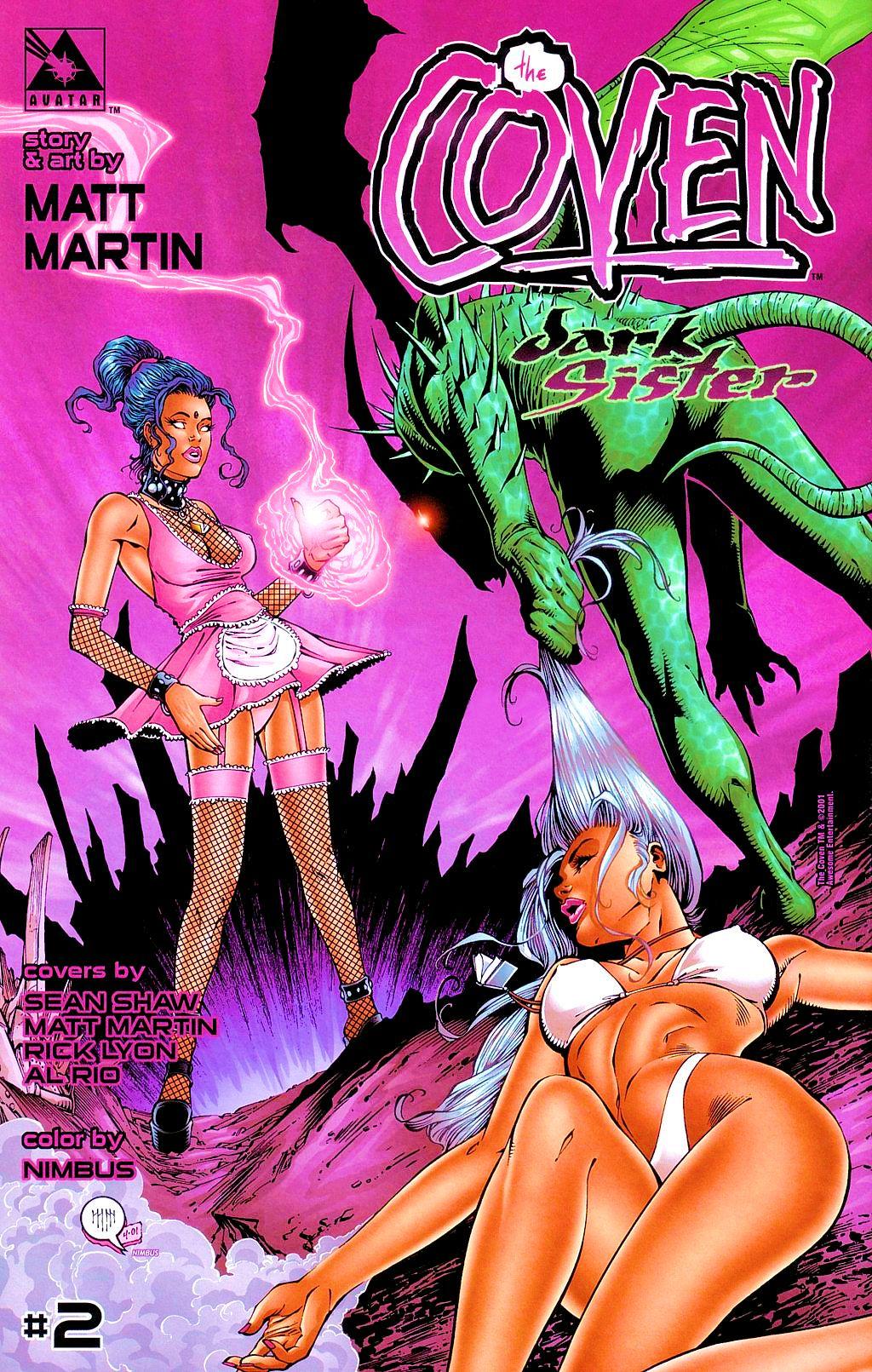 Read online Avengelyne: Dragon Realm comic -  Issue #1 - 27