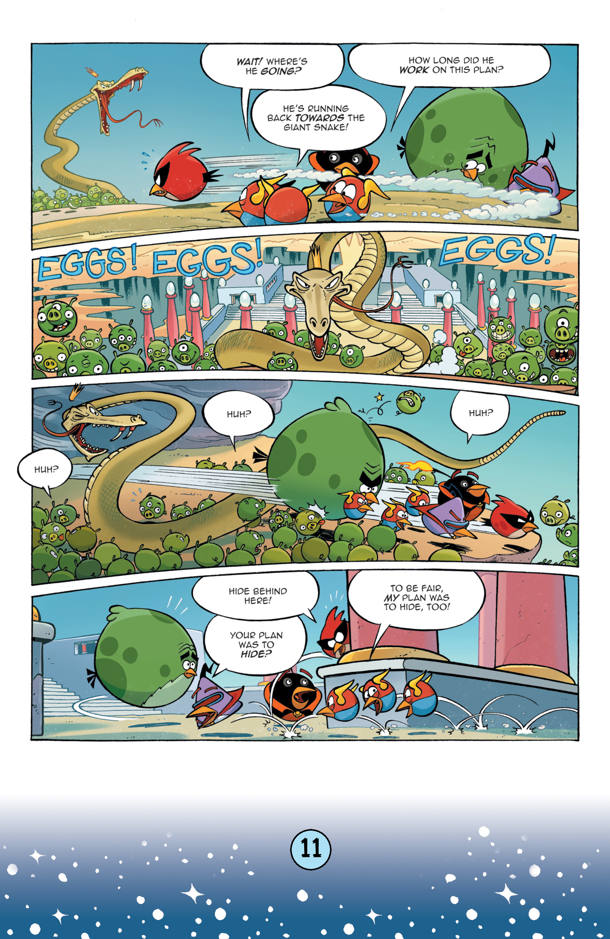 Read online Angry Birds Comics (2016) comic -  Issue #9 - 13