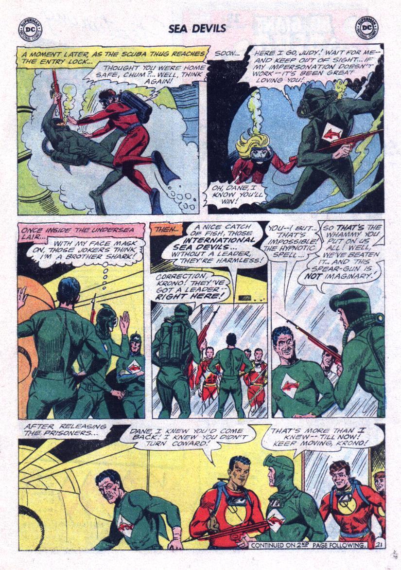 Read online Sea Devils comic -  Issue #23 - 27