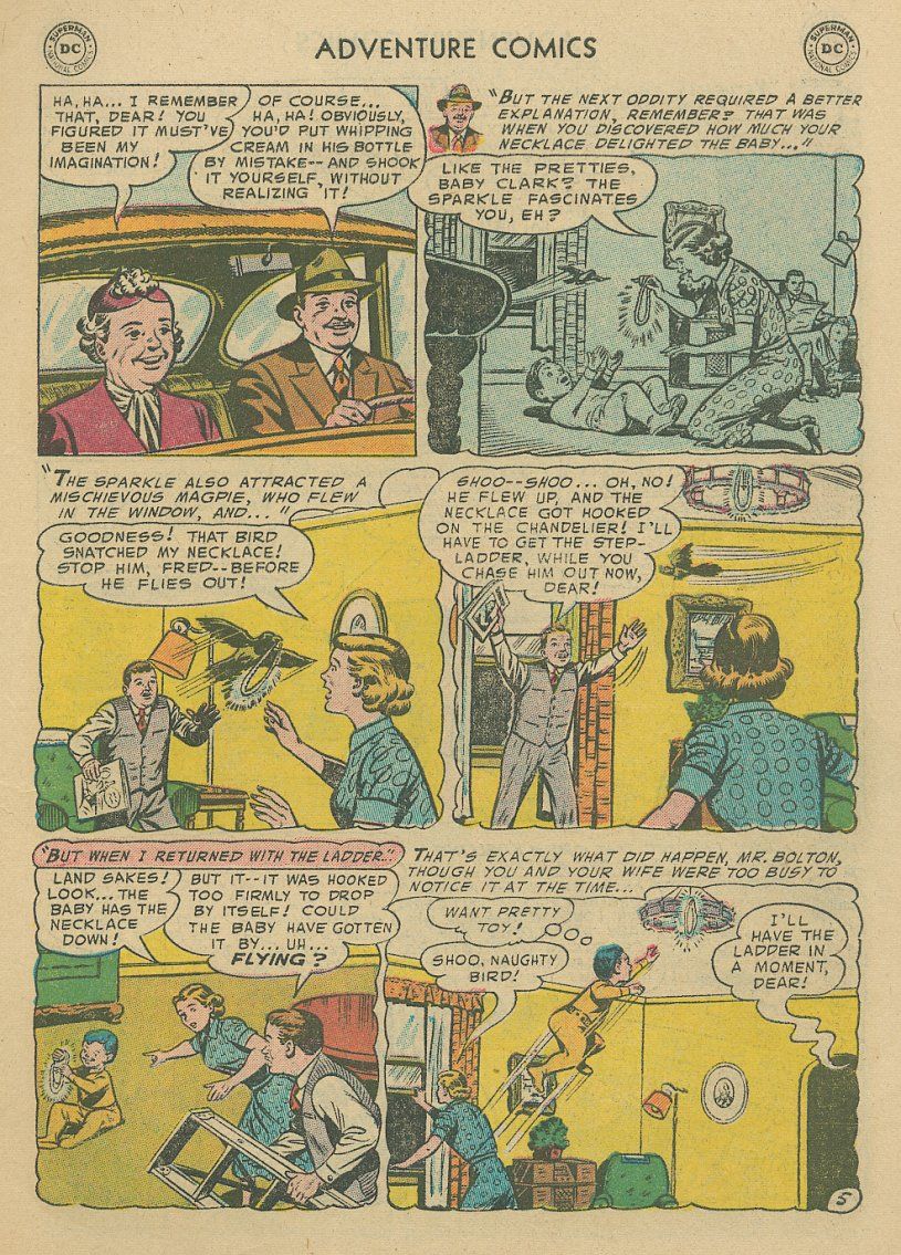 Read online Adventure Comics (1938) comic -  Issue #221 - 6
