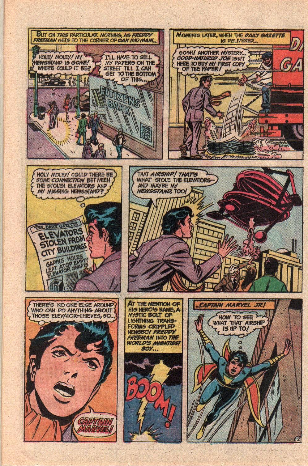 Read online Shazam! (1973) comic -  Issue #9 - 16