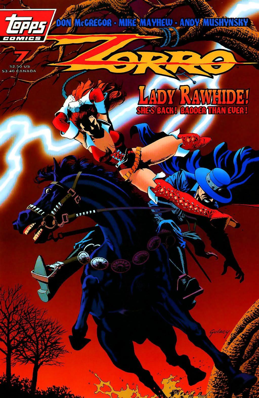Zorro (1993) 7 Page 1