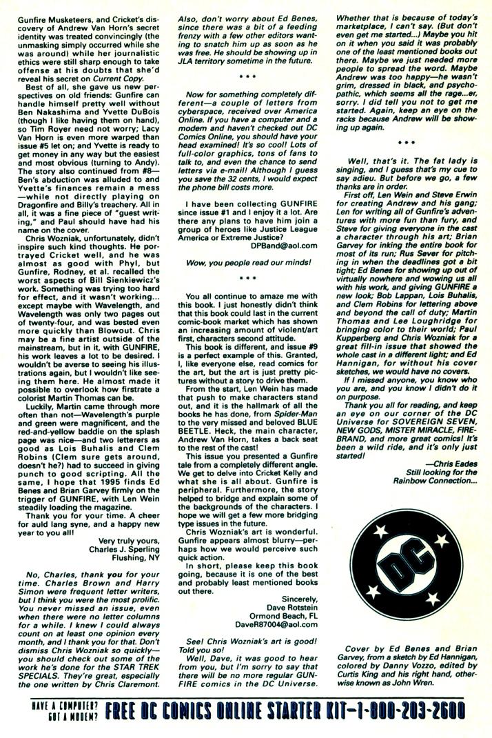 Read online Gunfire comic -  Issue #13 - 32