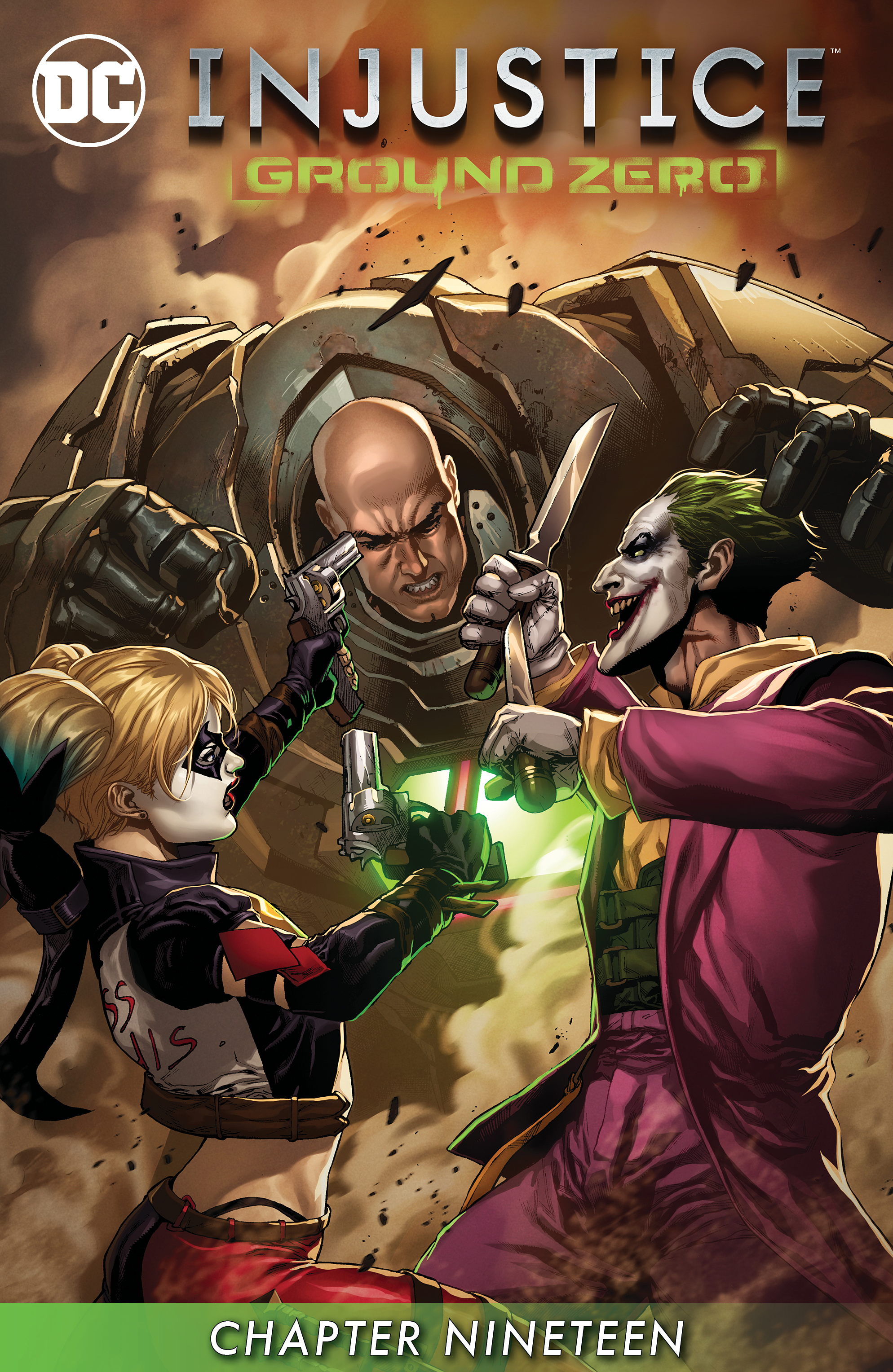 Read online Injustice: Ground Zero comic -  Issue #19 - 2