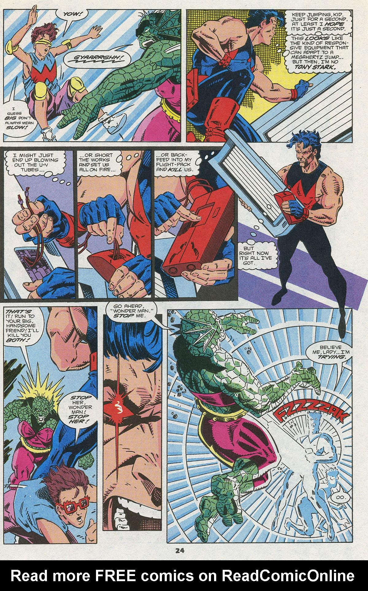 Read online Wonder Man (1991) comic -  Issue #3 - 19