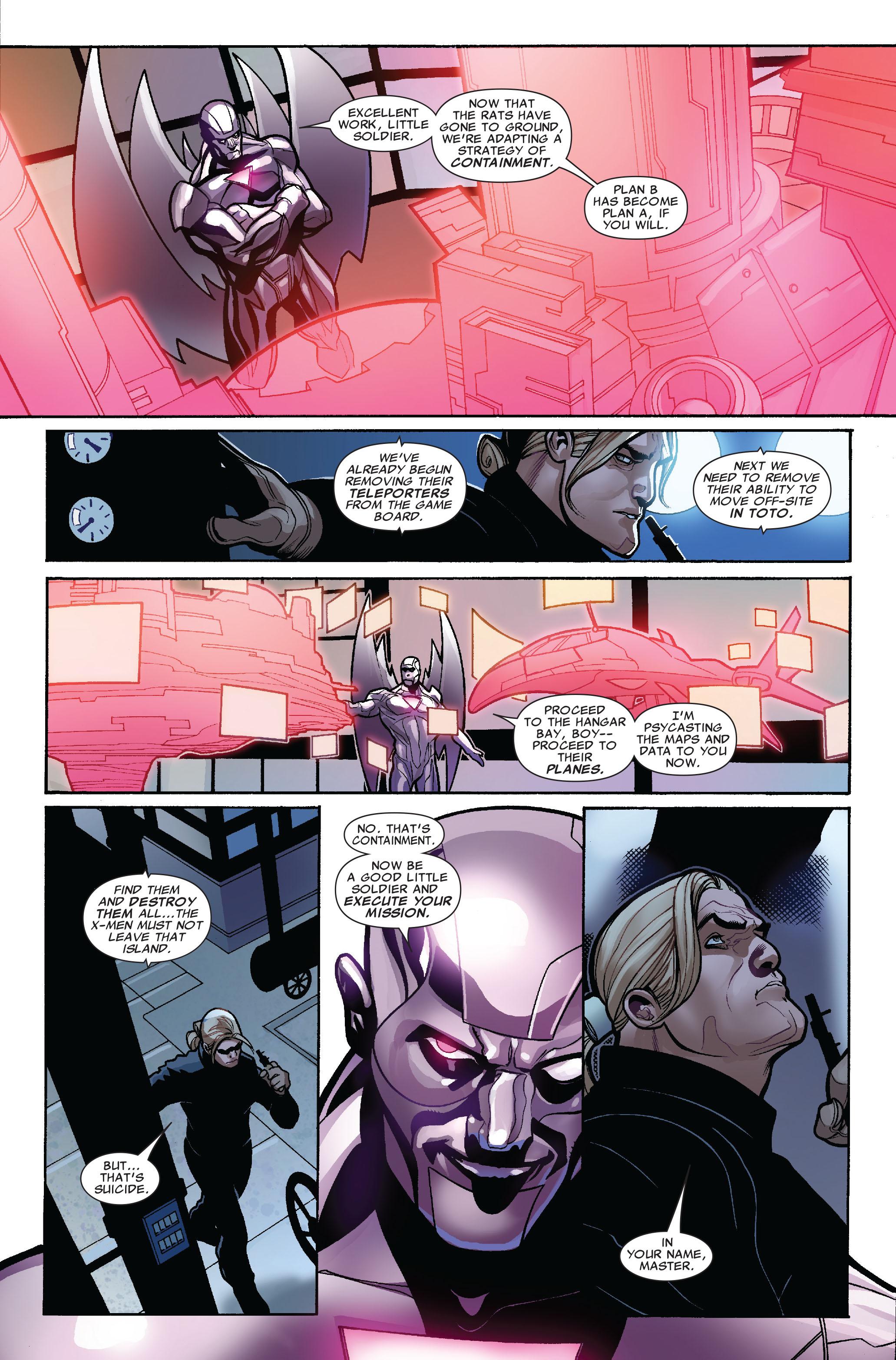 Read online Uncanny X-Men (1963) comic -  Issue #524 - 12