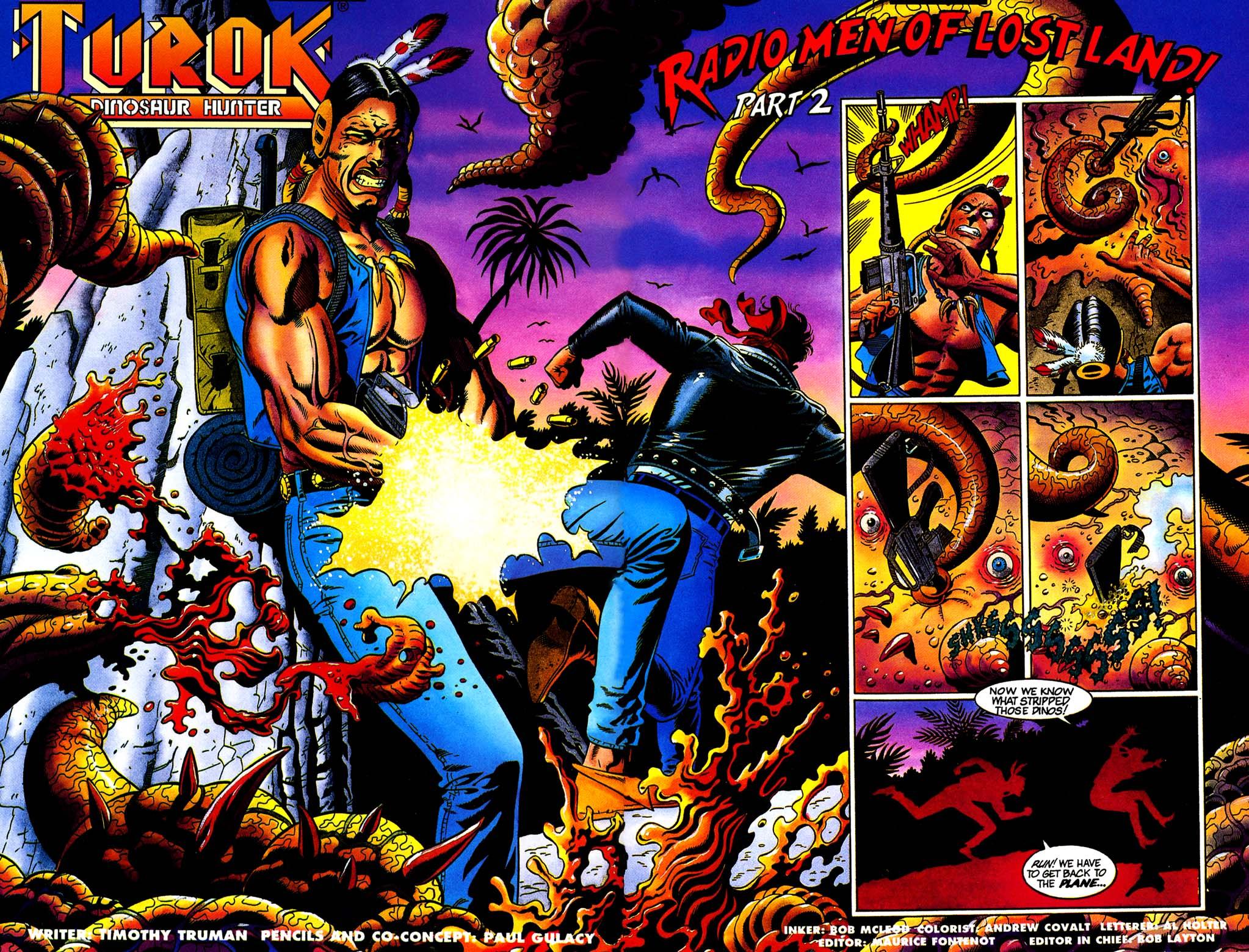 Read online Turok, Dinosaur Hunter (1993) comic -  Issue #32 - 3