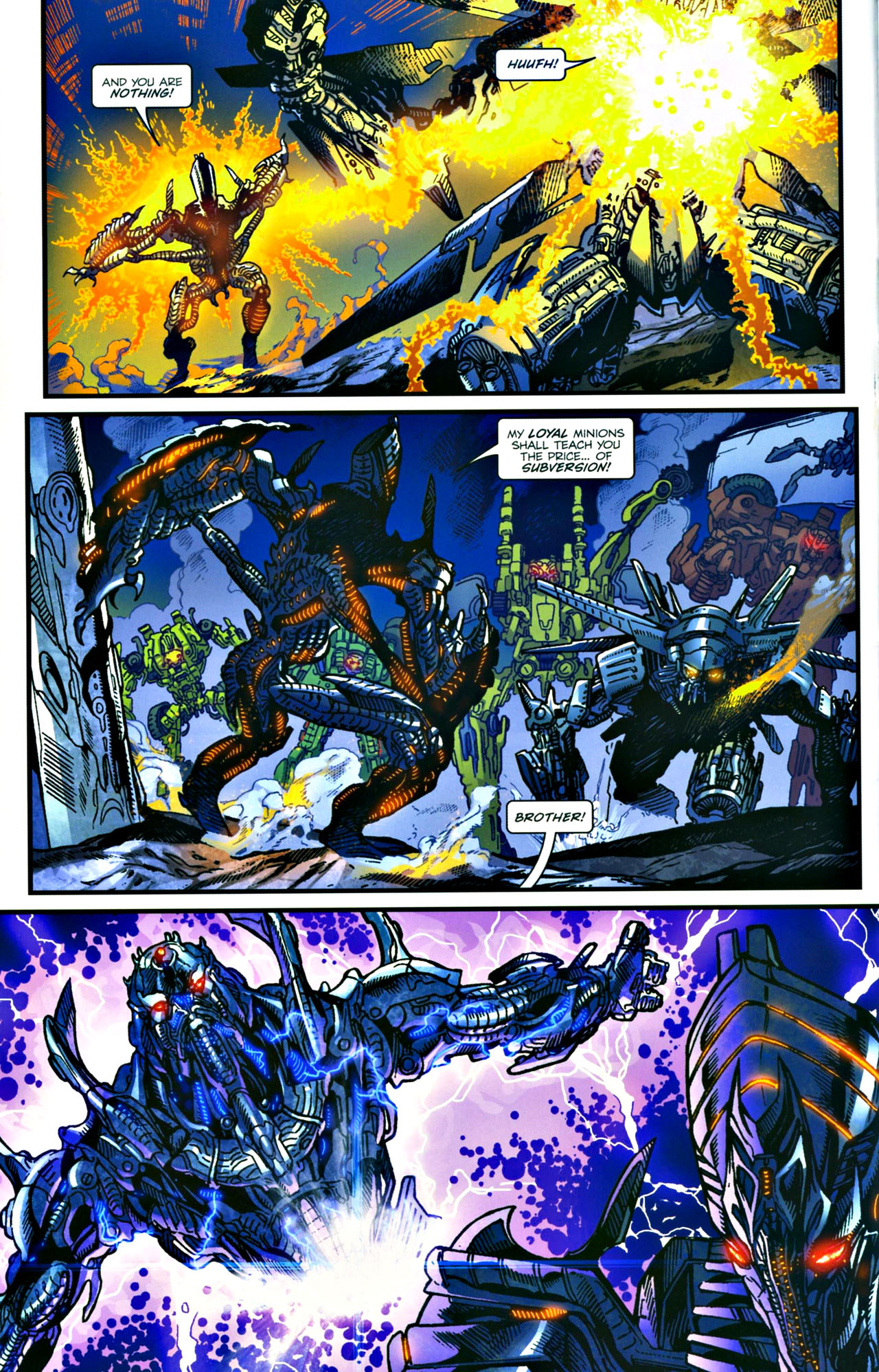 Read online Transformers: Tales of The Fallen comic -  Issue #4 - 15
