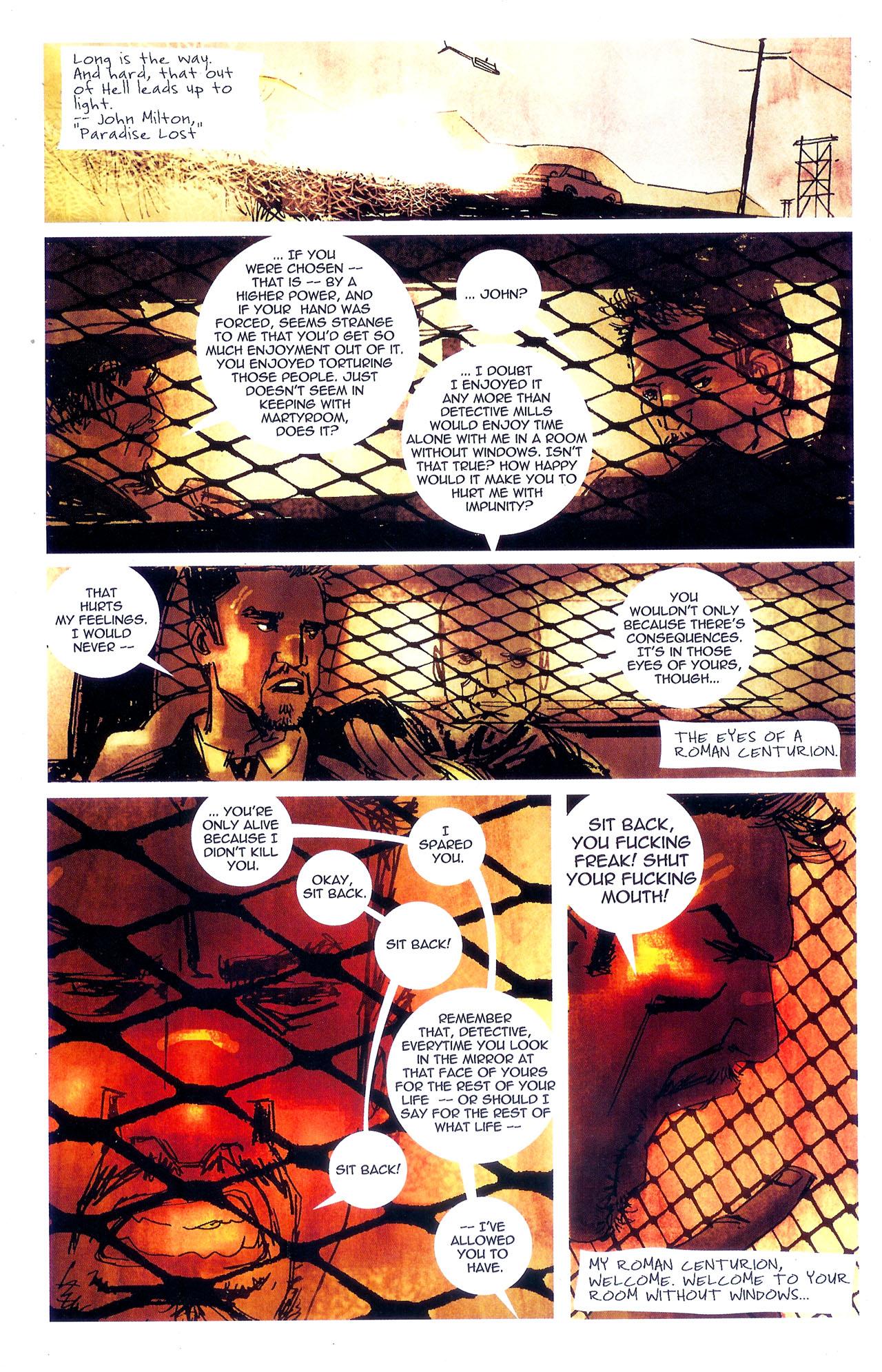 Read online Se7en comic -  Issue #7 - 12