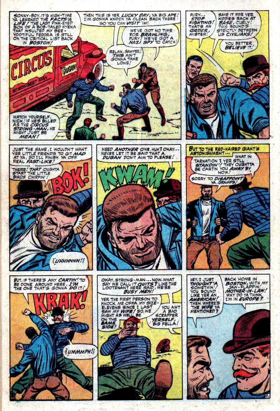 Read online Sgt. Fury comic -  Issue #34 - 16