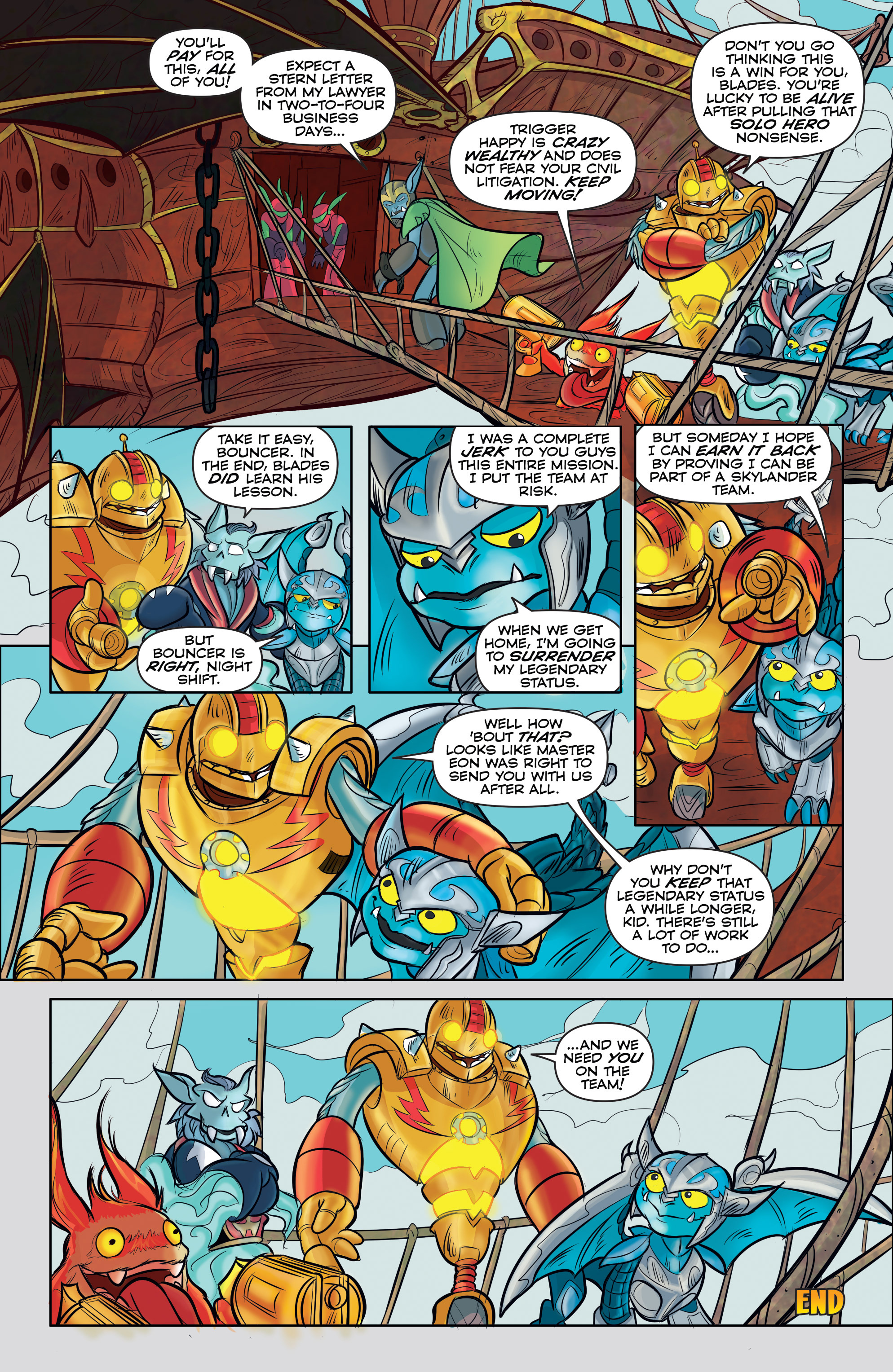 Read online Skylanders comic -  Issue #5 - 18