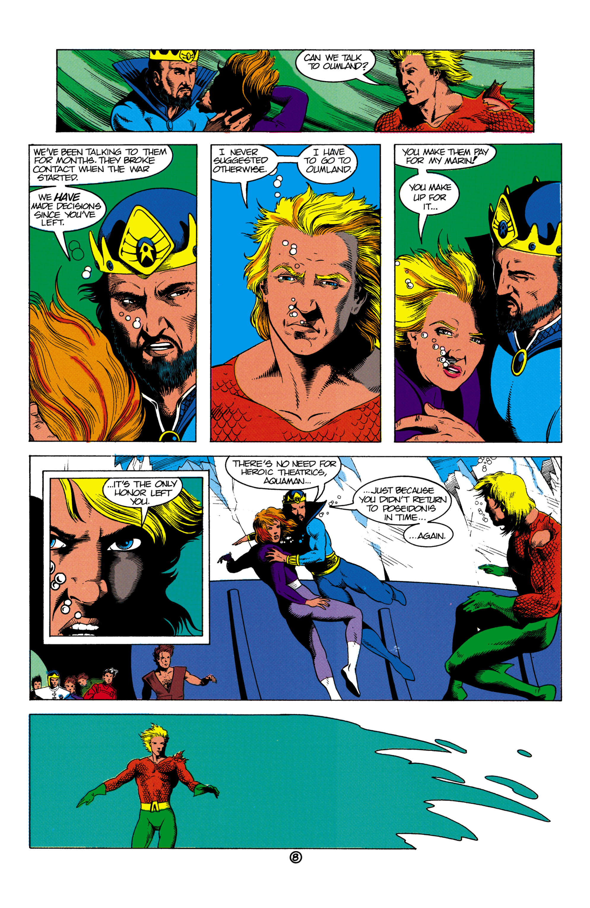 Read online Aquaman (1991) comic -  Issue #2 - 9