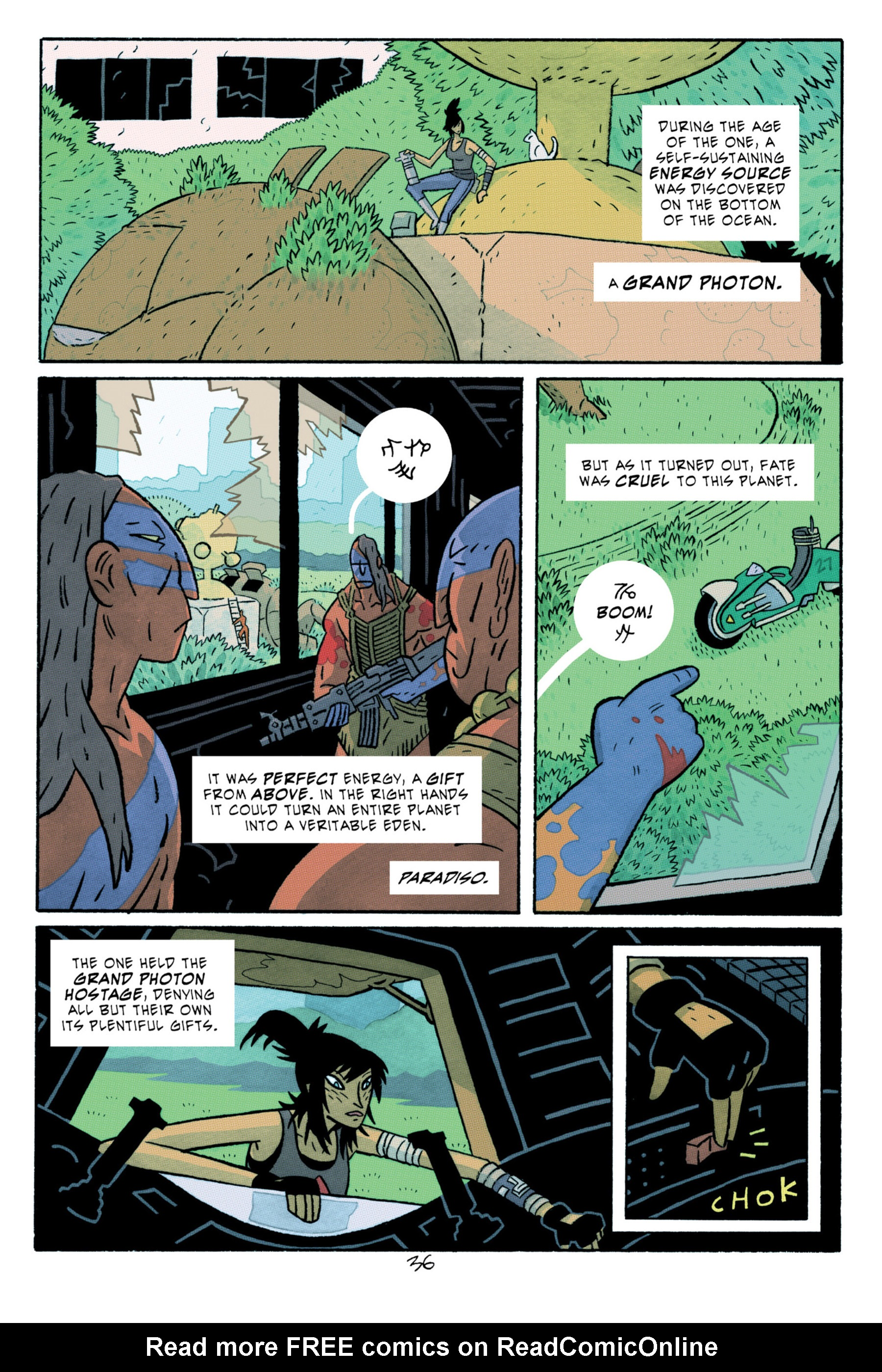 Read online ApocalyptiGirl: An Aria for the End Times comic -  Issue #ApocalyptiGirl: An Aria for the End Times Full - 44