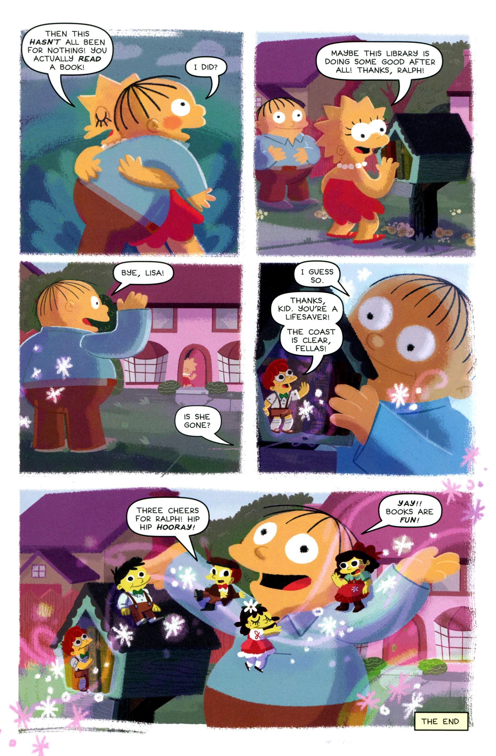Read online Simpsons One-Shot Wonders: Lisa comic -  Issue # Full - 27