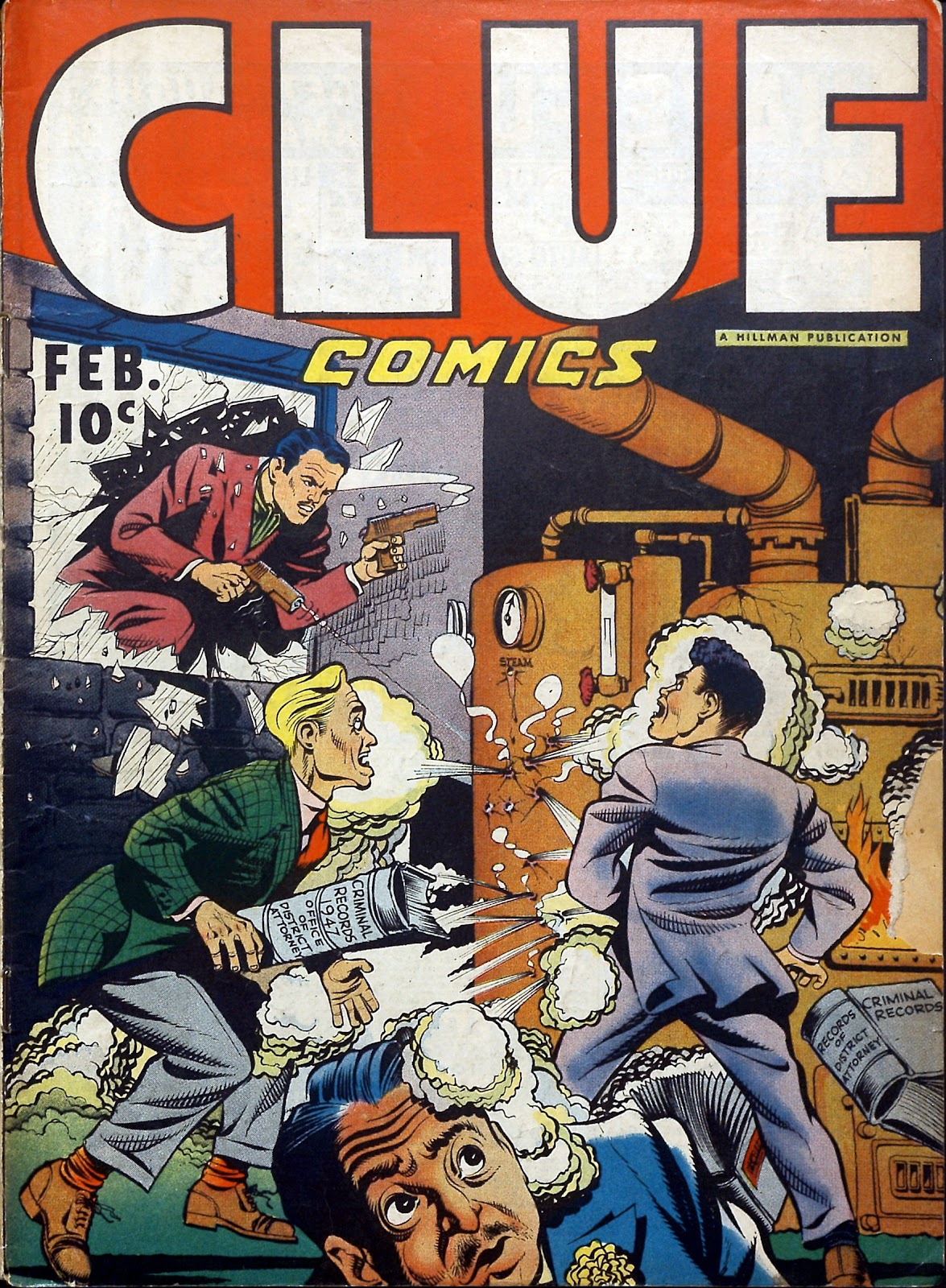 Clue Comics issue 12 - Page 1