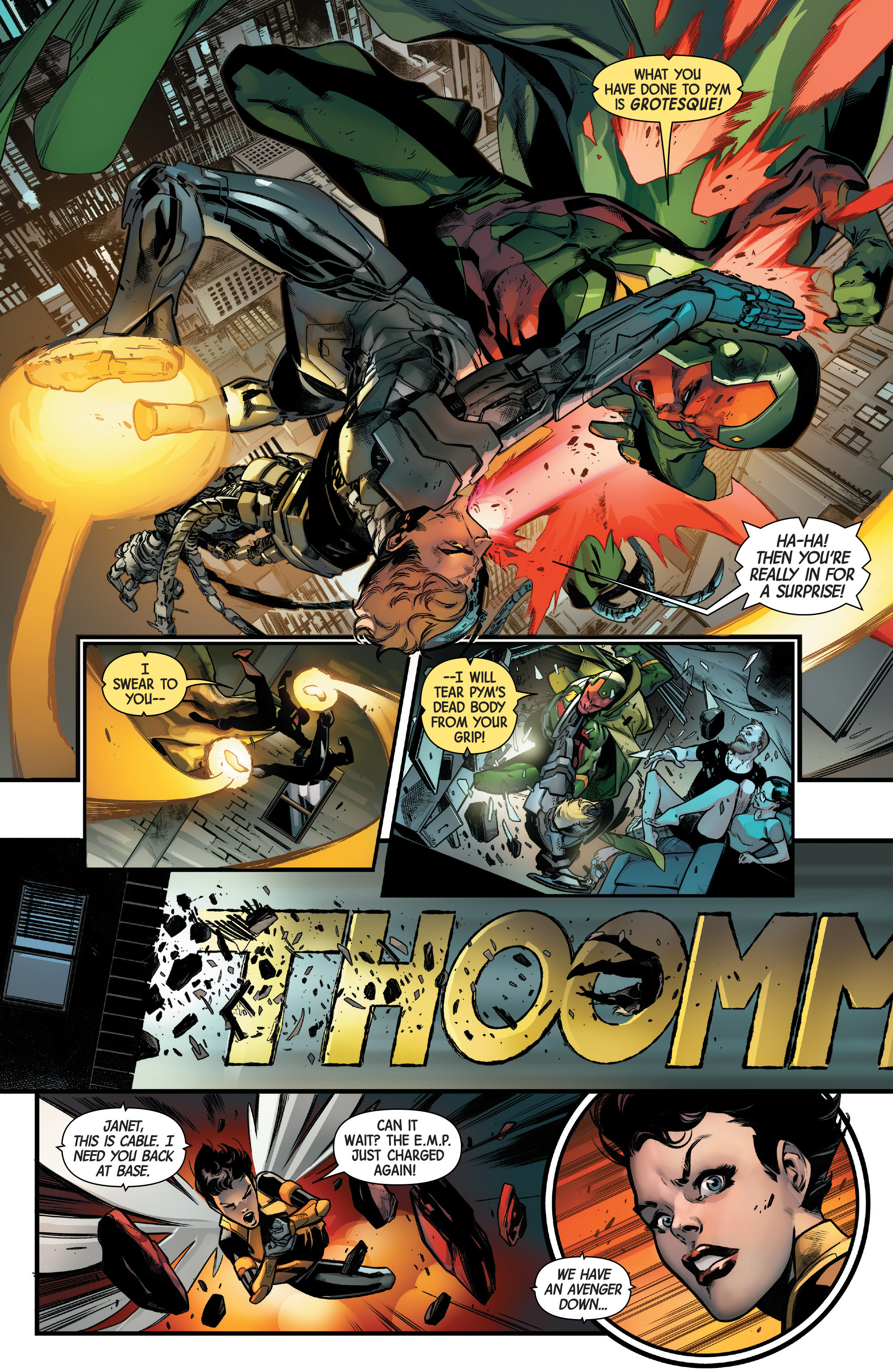 Read online Uncanny Avengers [II] comic -  Issue #11 - 9