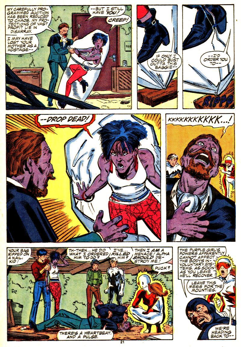 Read online Alpha Flight (1983) comic -  Issue #42 - 23