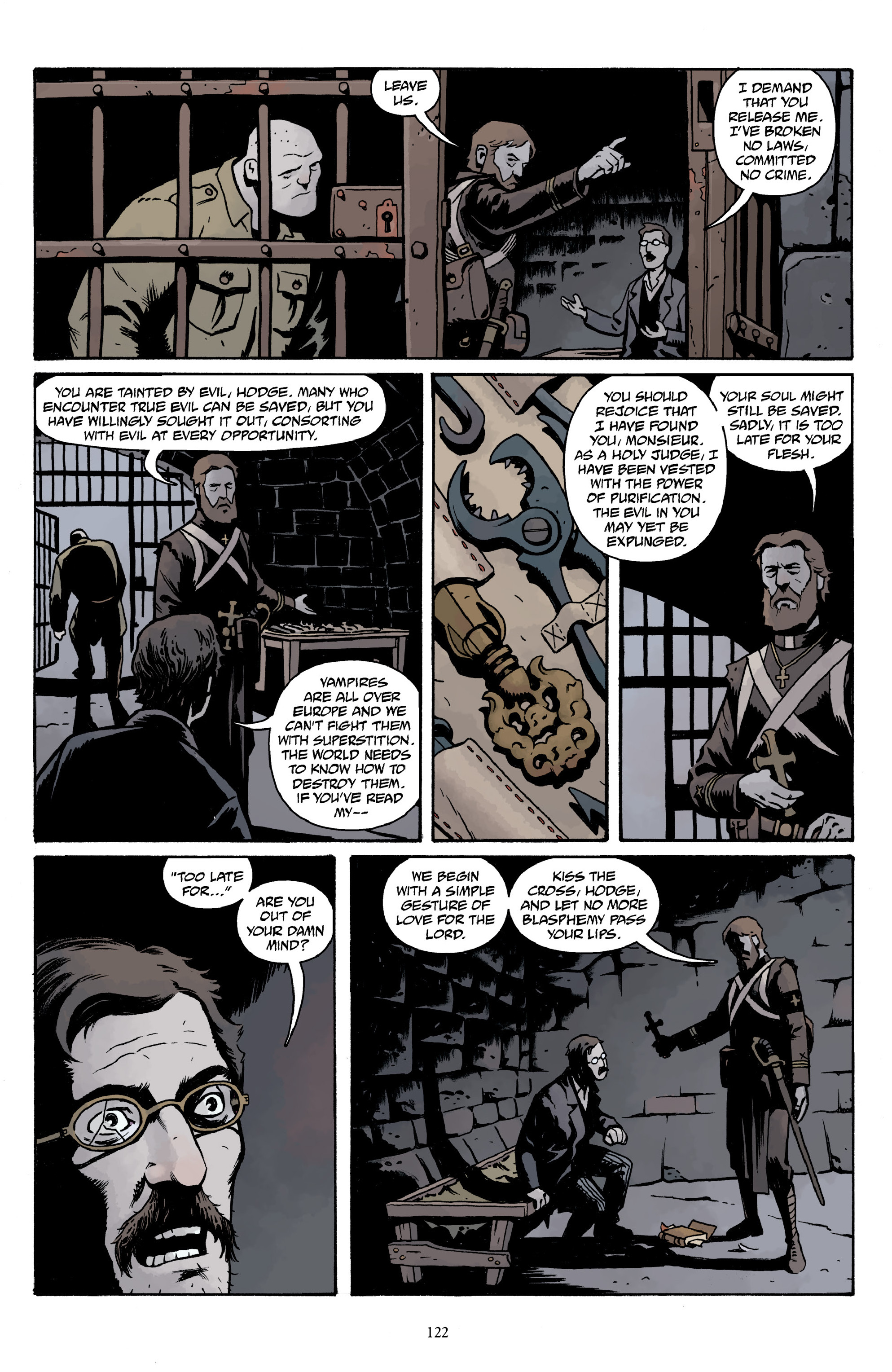 Read online Baltimore Volume 3: A Passing Stranger and Other Stories comic -  Issue # Full - 124