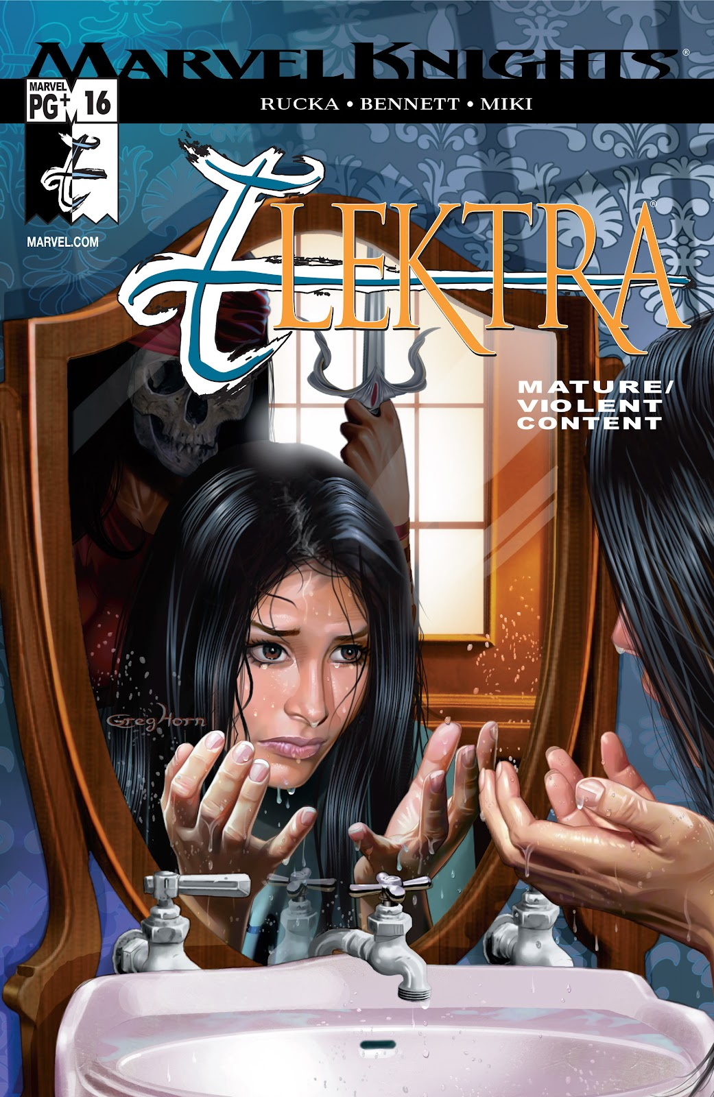 Read online Elektra (2001) comic -  Issue # _TPB Elektra by Greg Rucka Ultimate Collection (Part 3) - 22