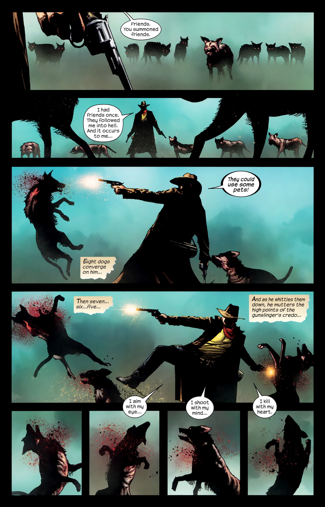 Read online Dark Tower: The Gunslinger - The Way Station comic -  Issue #1 - 13