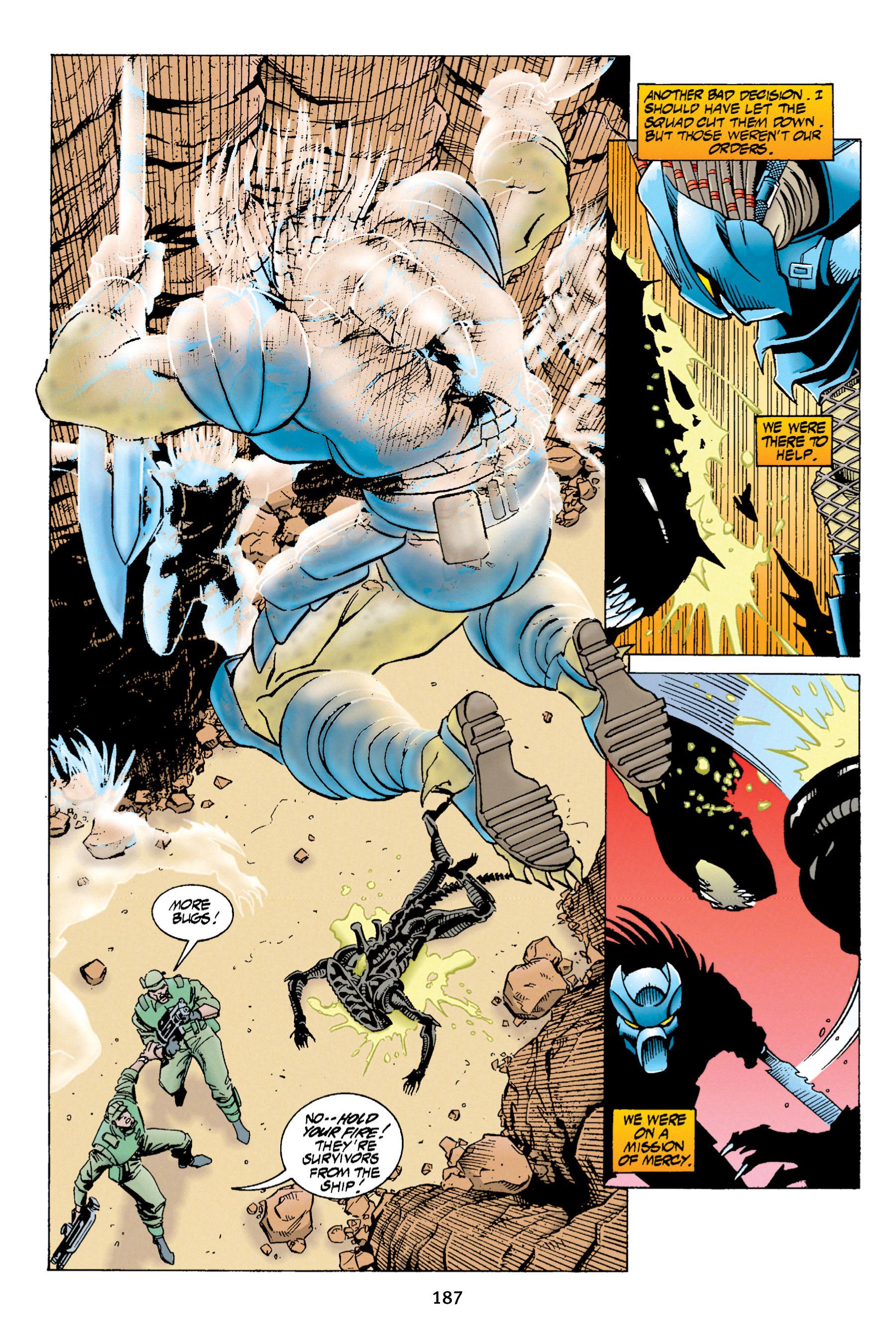 Read online Aliens vs. Predator Omnibus comic -  Issue # _TPB 1 Part 2 - 85