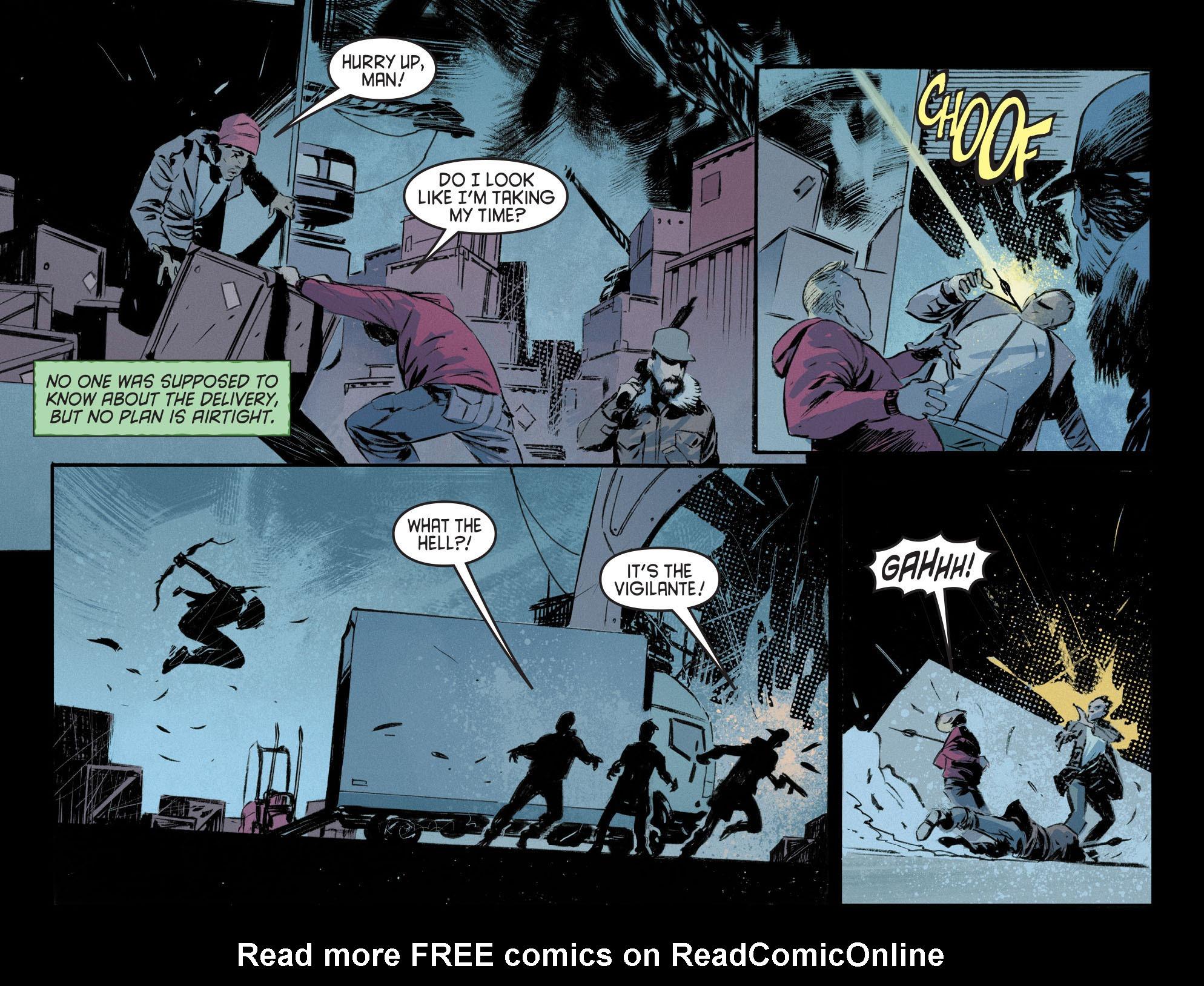 Read online Arrow [II] comic -  Issue #12 - 5
