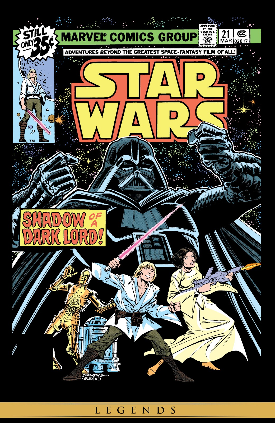 Read online Star Wars Legends: The Original Marvel Years - Epic Collection comic -  Issue # TPB 1 (Part 4) - 68
