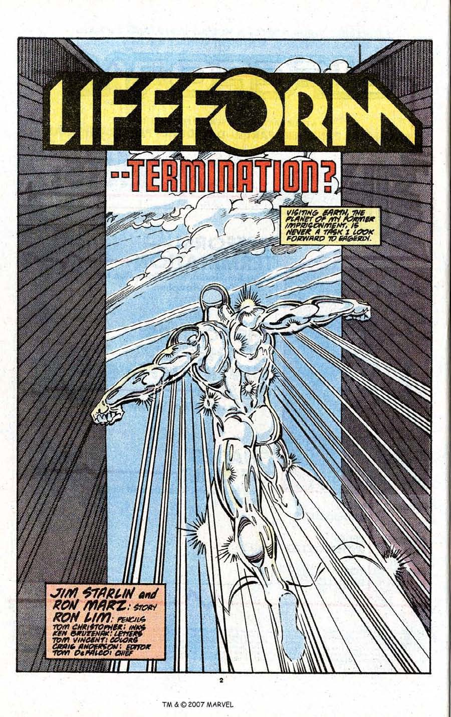 Read online Silver Surfer (1987) comic -  Issue # _Annual 3 - 4
