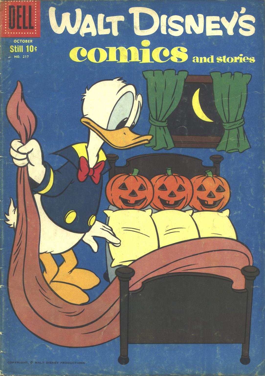 Walt Disneys Comics and Stories 217 Page 1