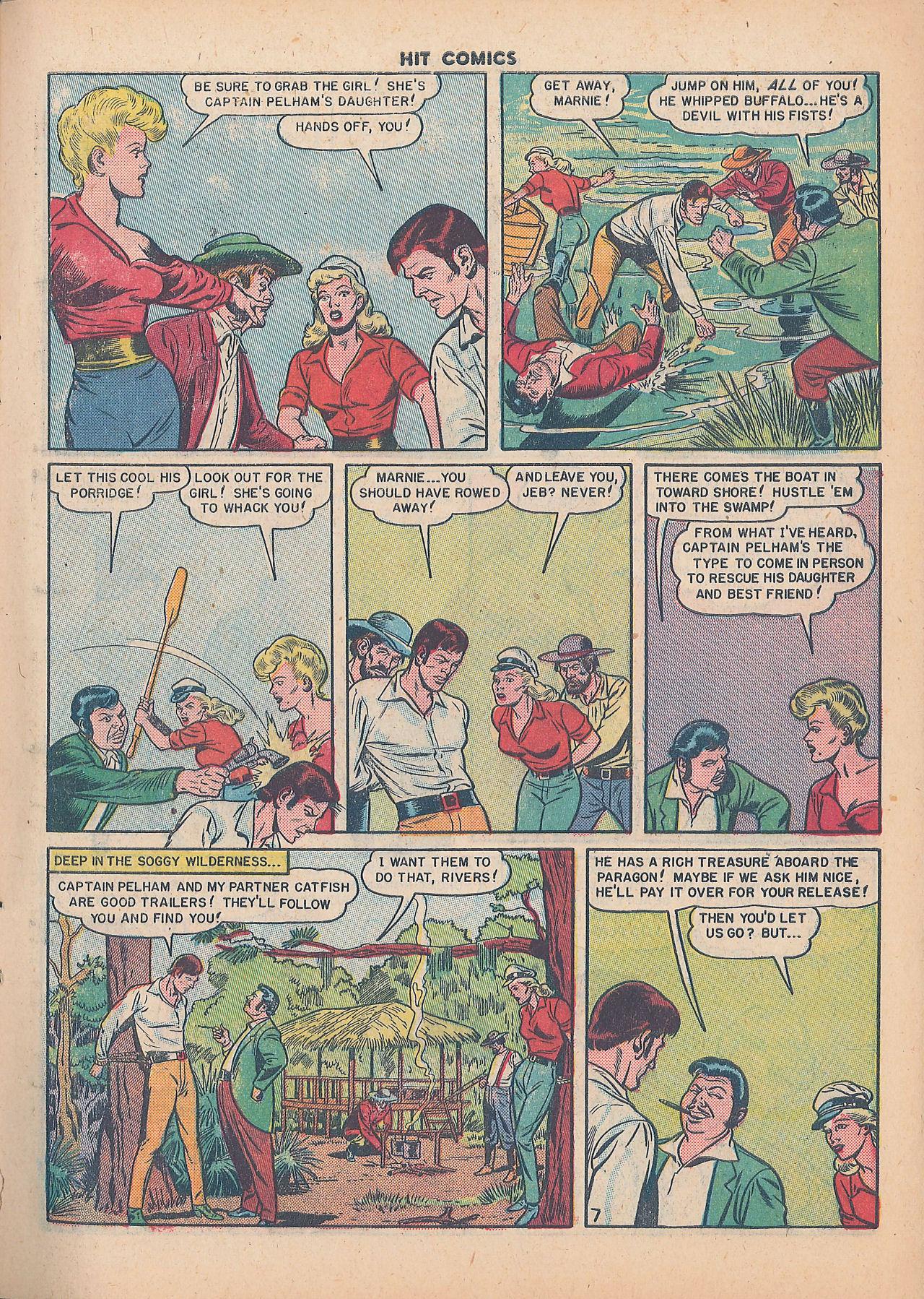 Read online Hit Comics comic -  Issue #64 - 9