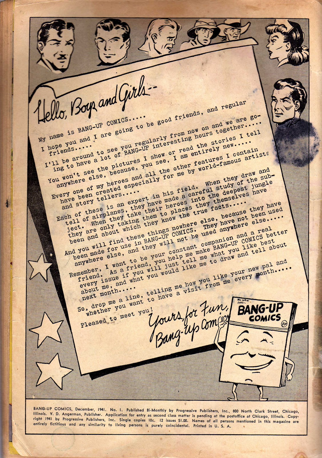Bang-Up Comics issue 1 - Page 3