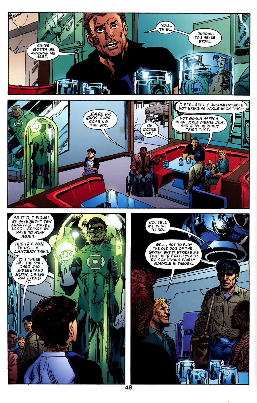 Read online Green Lantern: Legacy: The Last Will and Testament of Hal Jordan comic -  Issue # TPB - 53
