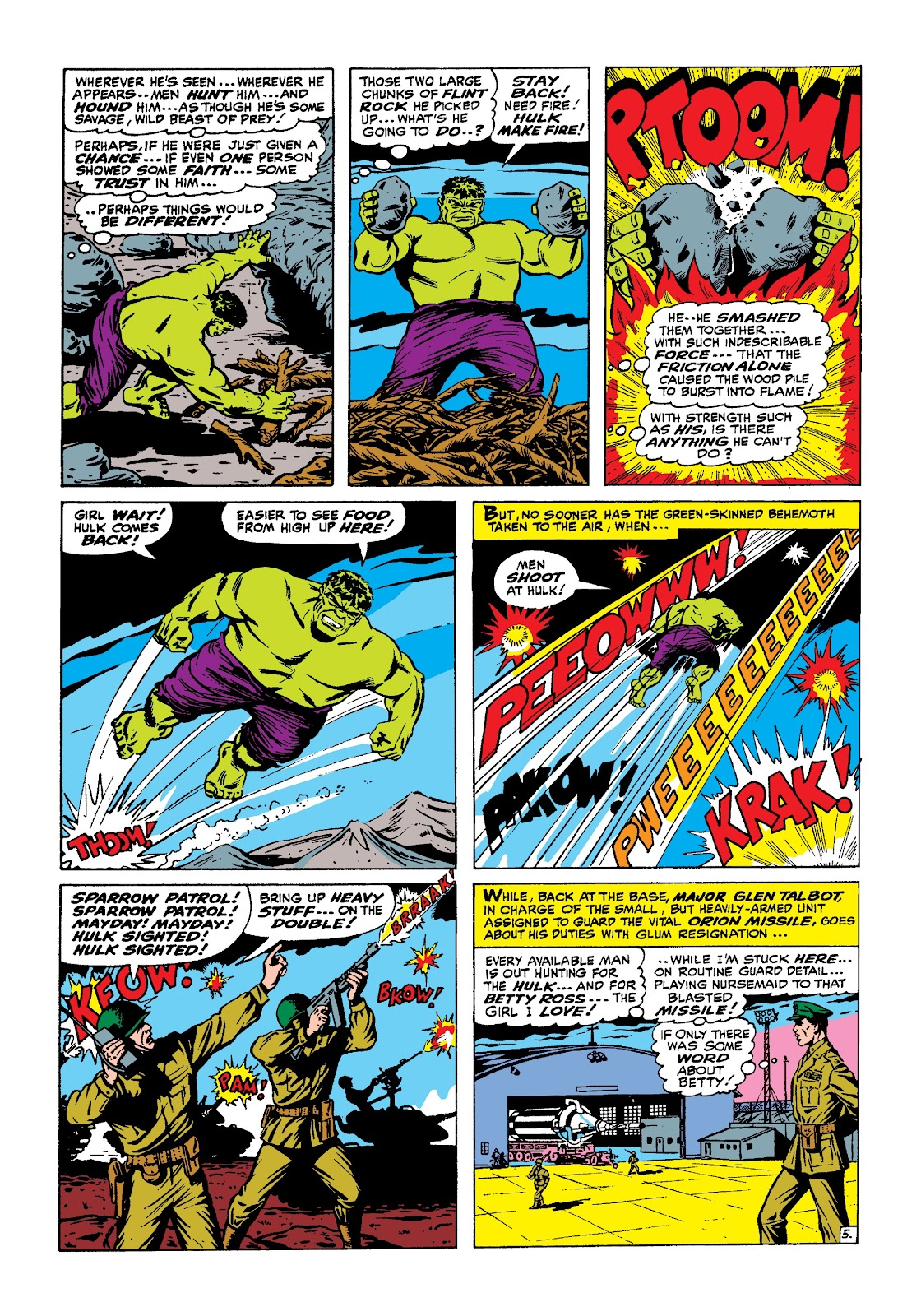Read online Marvel Masterworks: The Incredible Hulk comic -  Issue # TPB 3 (Part 1) - 45