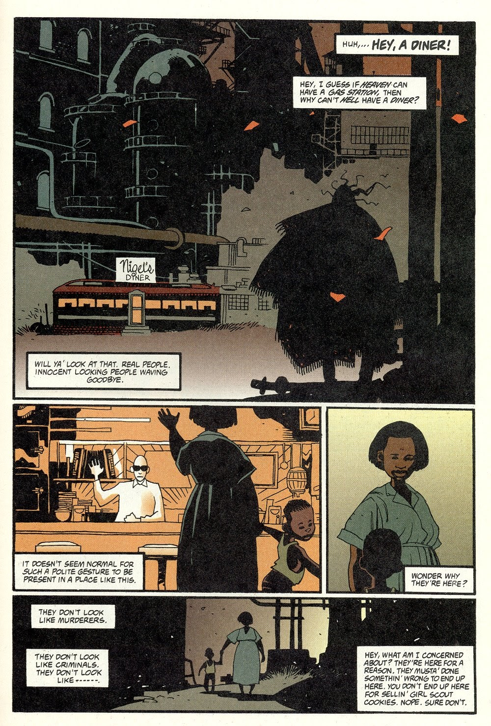 Read online Ted McKeever's Metropol comic -  Issue #11 - 25
