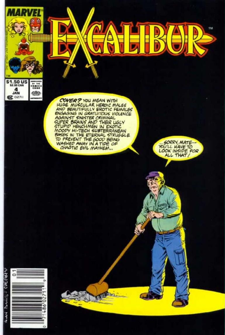 Excalibur (1988) issue 4 - Page 1