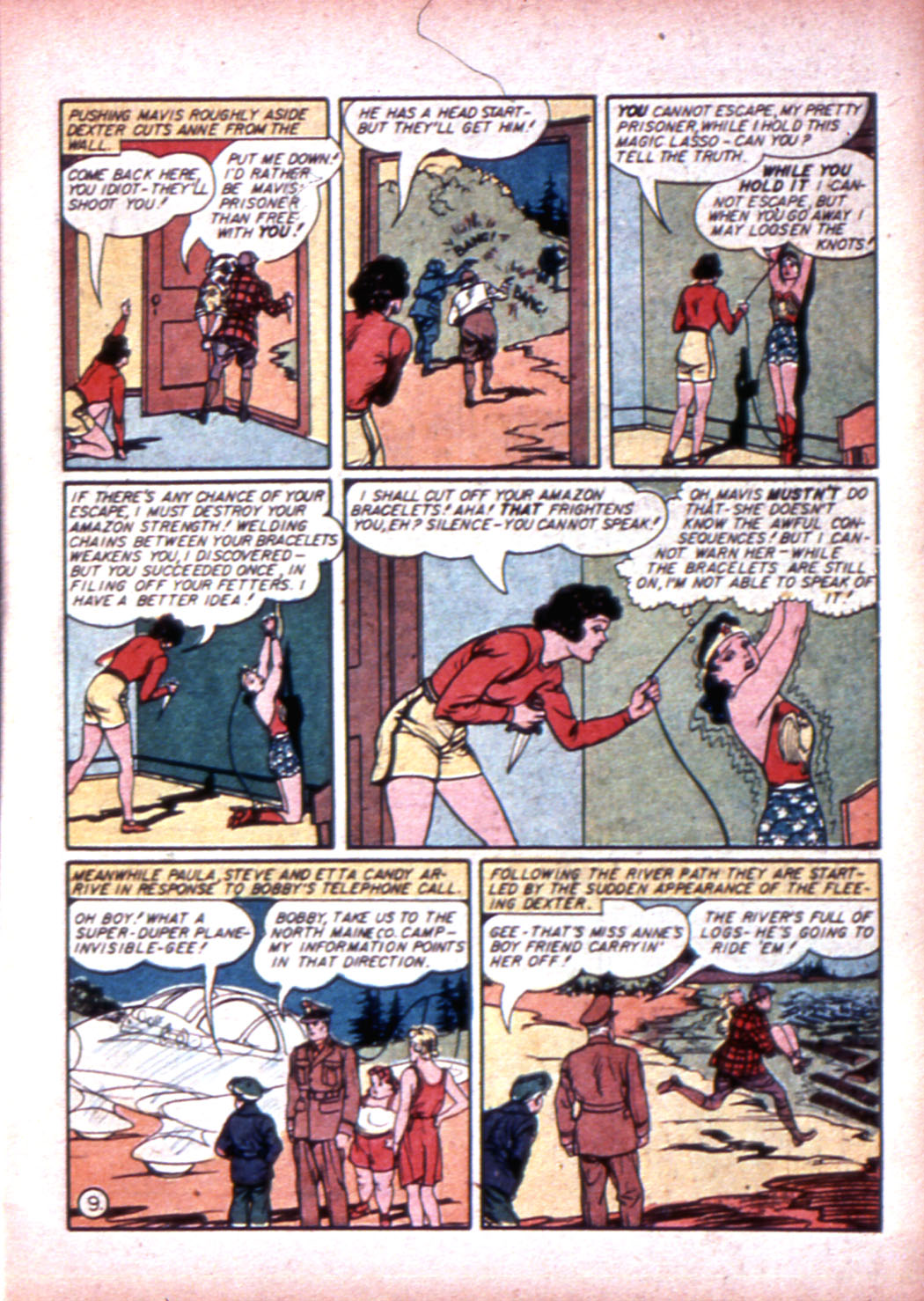 Read online Sensation (Mystery) Comics comic -  Issue #19 - 11