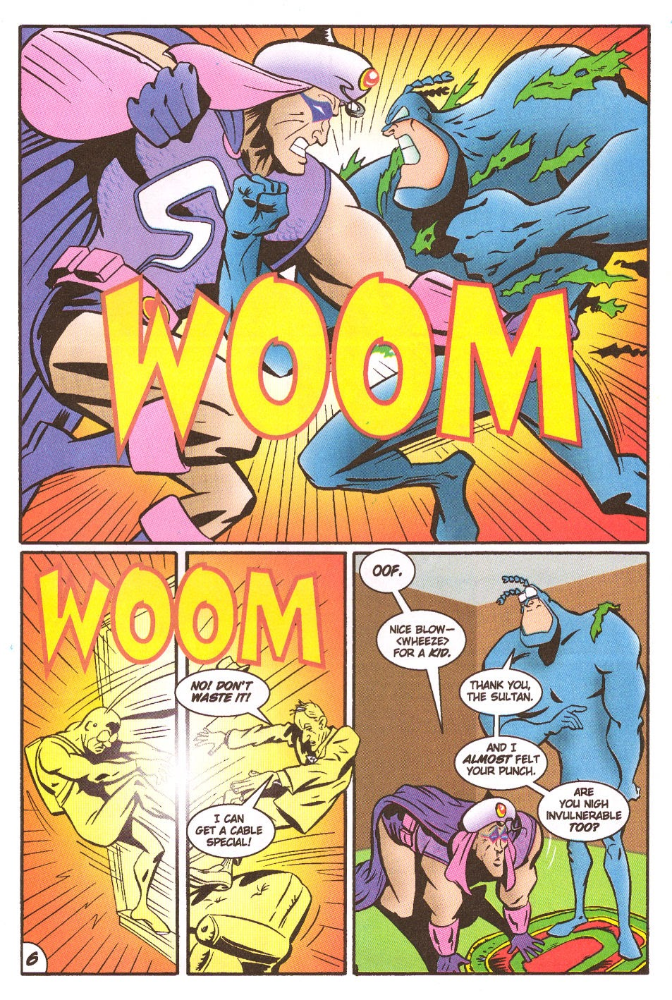 Read online The Tick: Days of Drama comic -  Issue #5 - 8