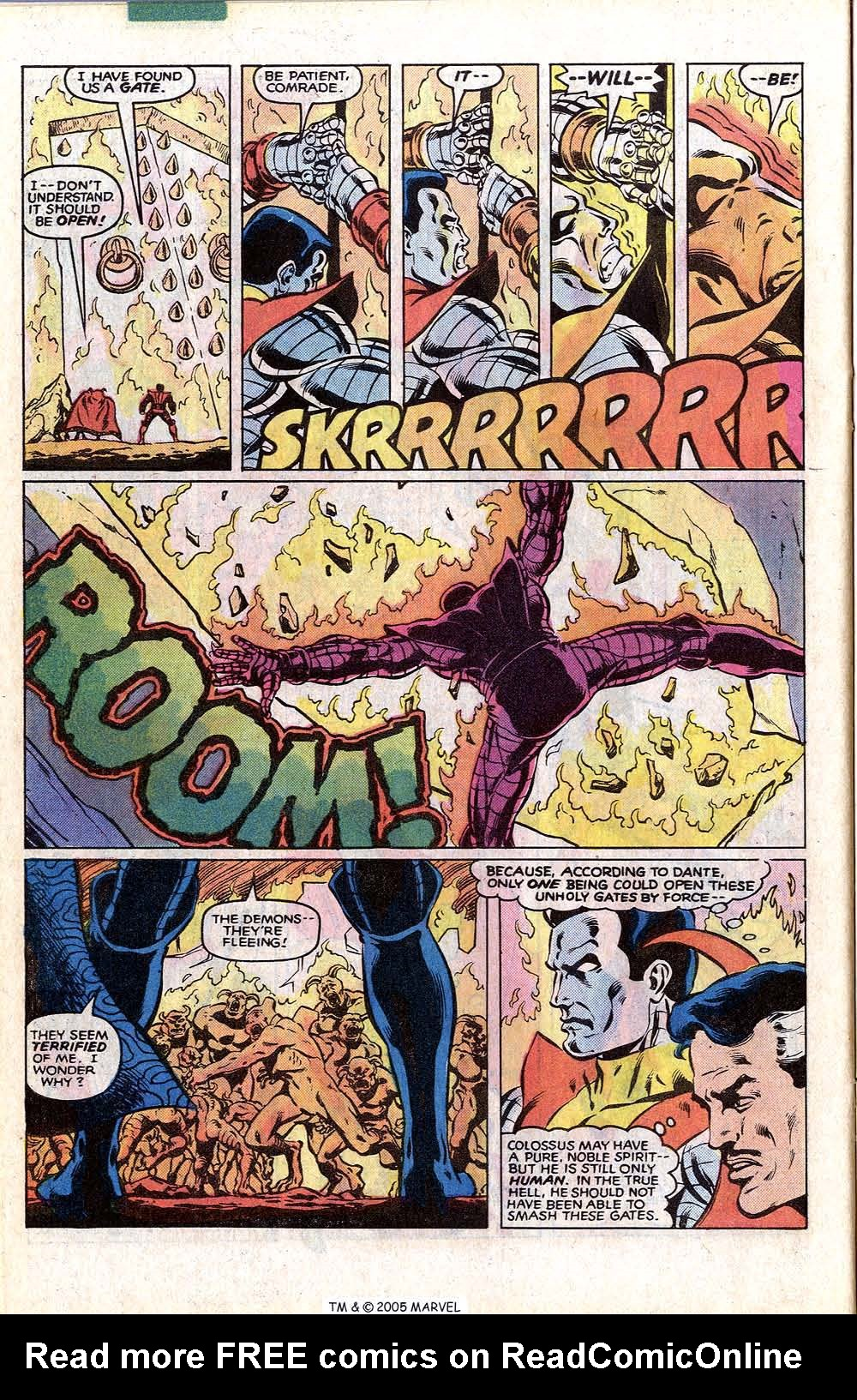 Read online Uncanny X-Men (1963) comic -  Issue # _Annual 4 - 34