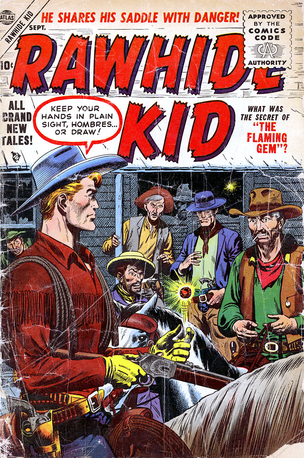 The Rawhide Kid (1955) issue 4 - Page 1