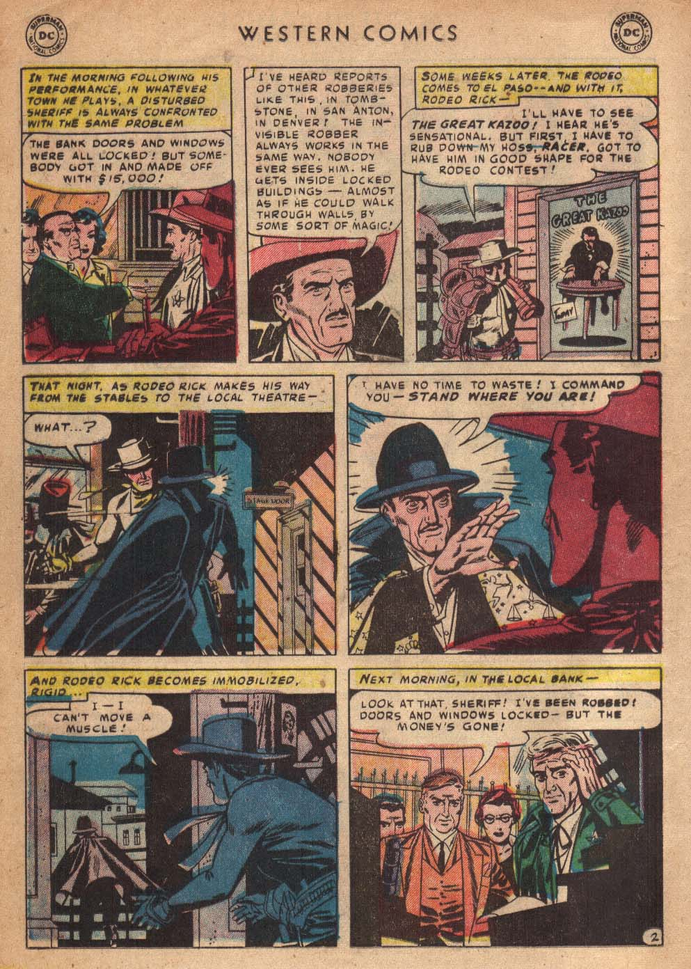 Western Comics issue 36 - Page 20