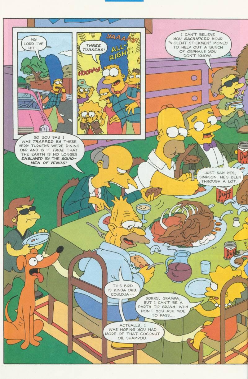 Read online Simpsons Comics comic -  Issue #51 - 23