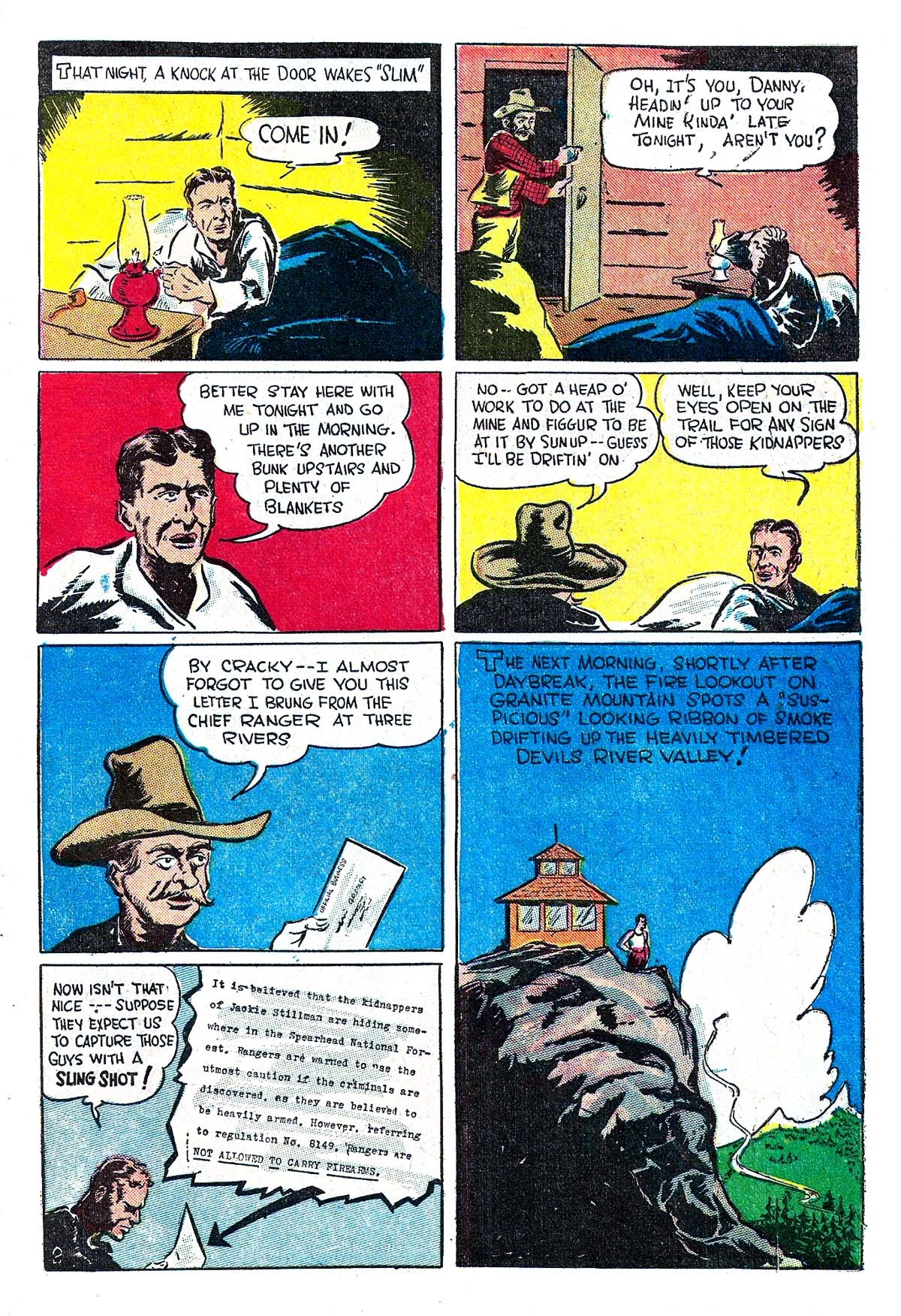 Read online Amazing Man Comics comic -  Issue #5 - 53